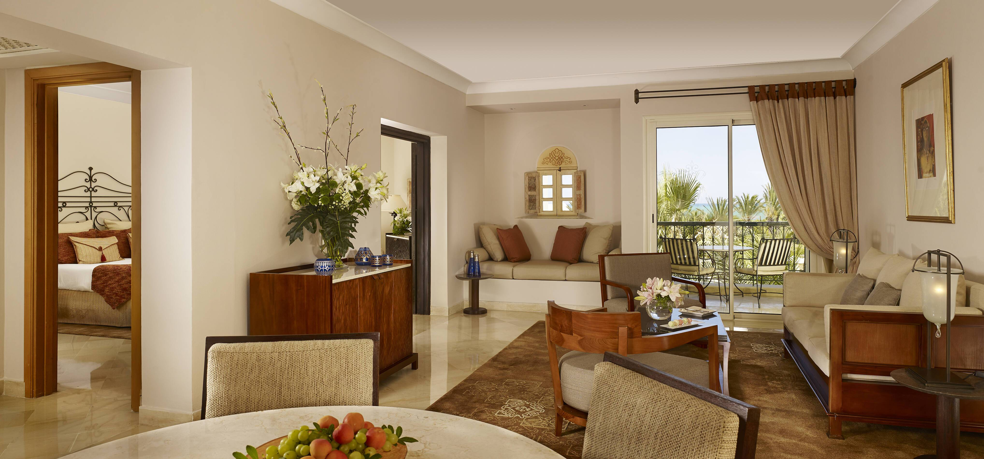 The Residence Sea View Suite Tunis