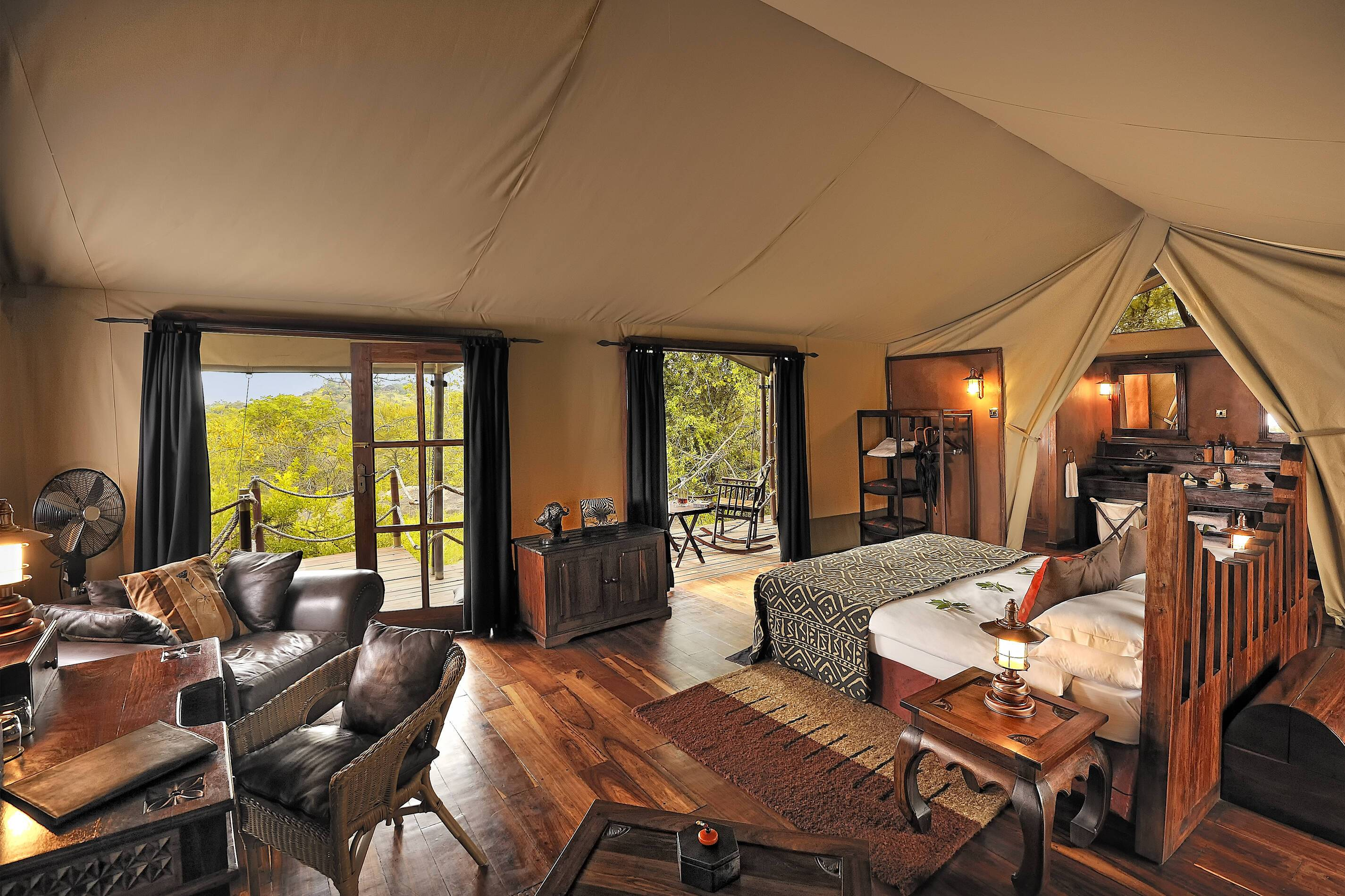 Safari Serengeti Elewana Migration Camp Tente Tanzanie