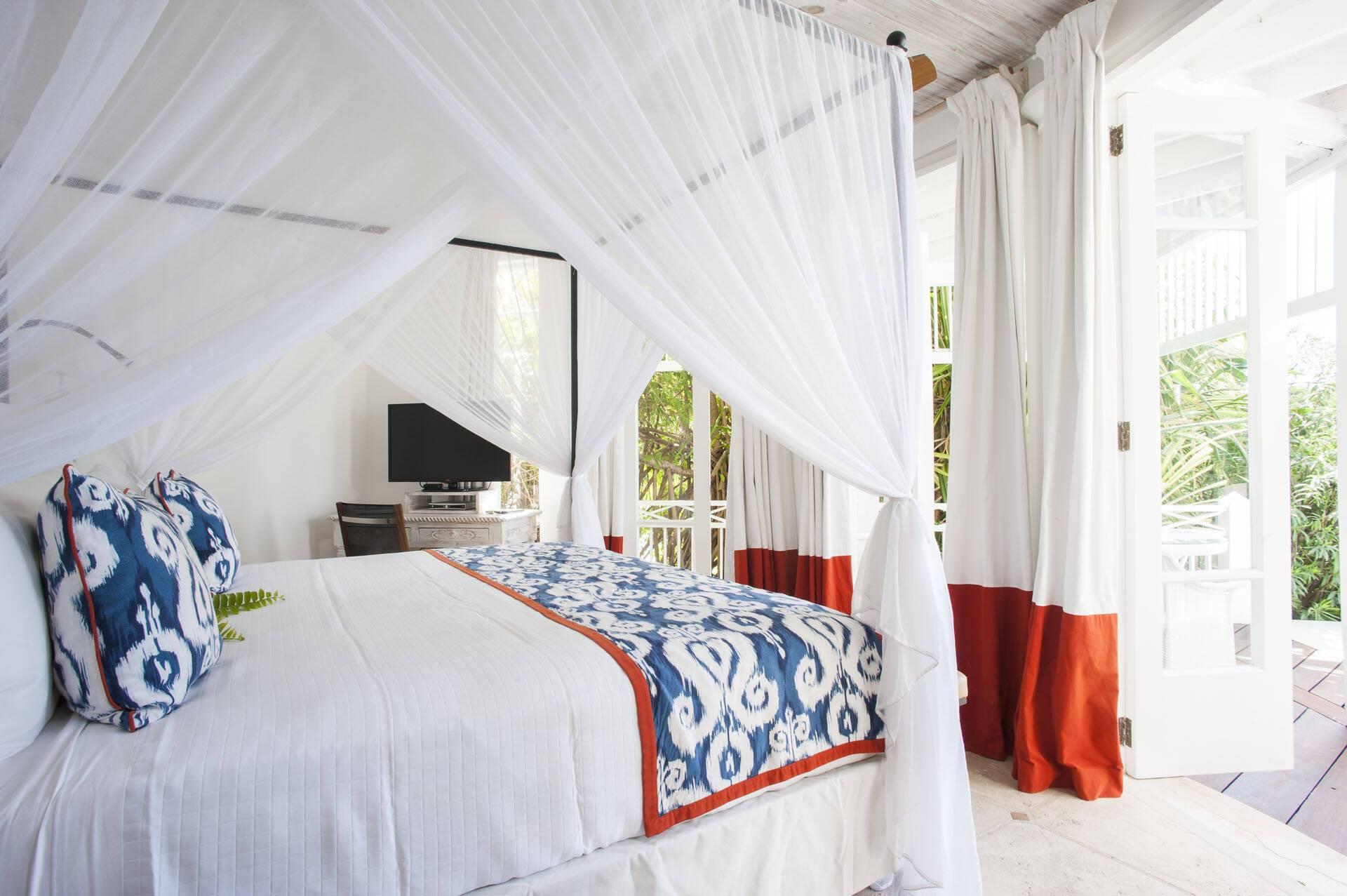 The Cotton House Chambre Seaview Moustique