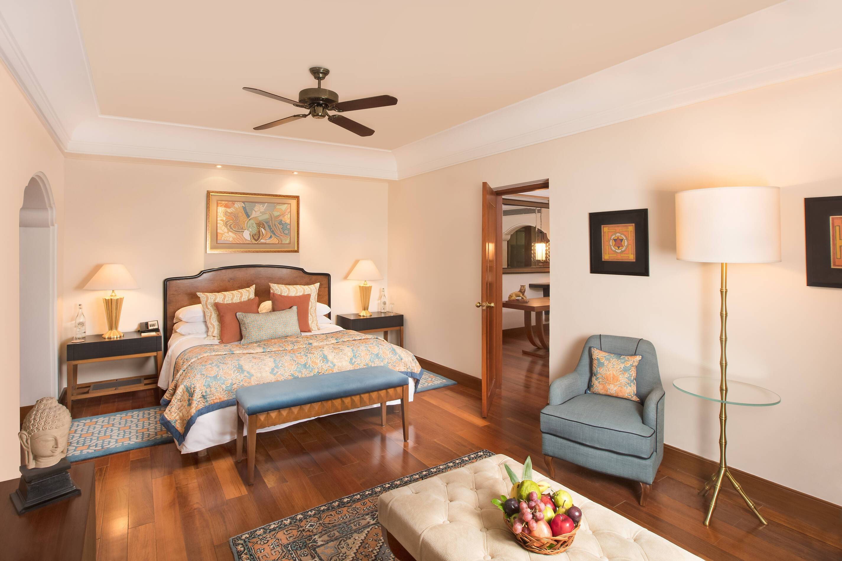 Ananda Garden Suite Chambre Inde