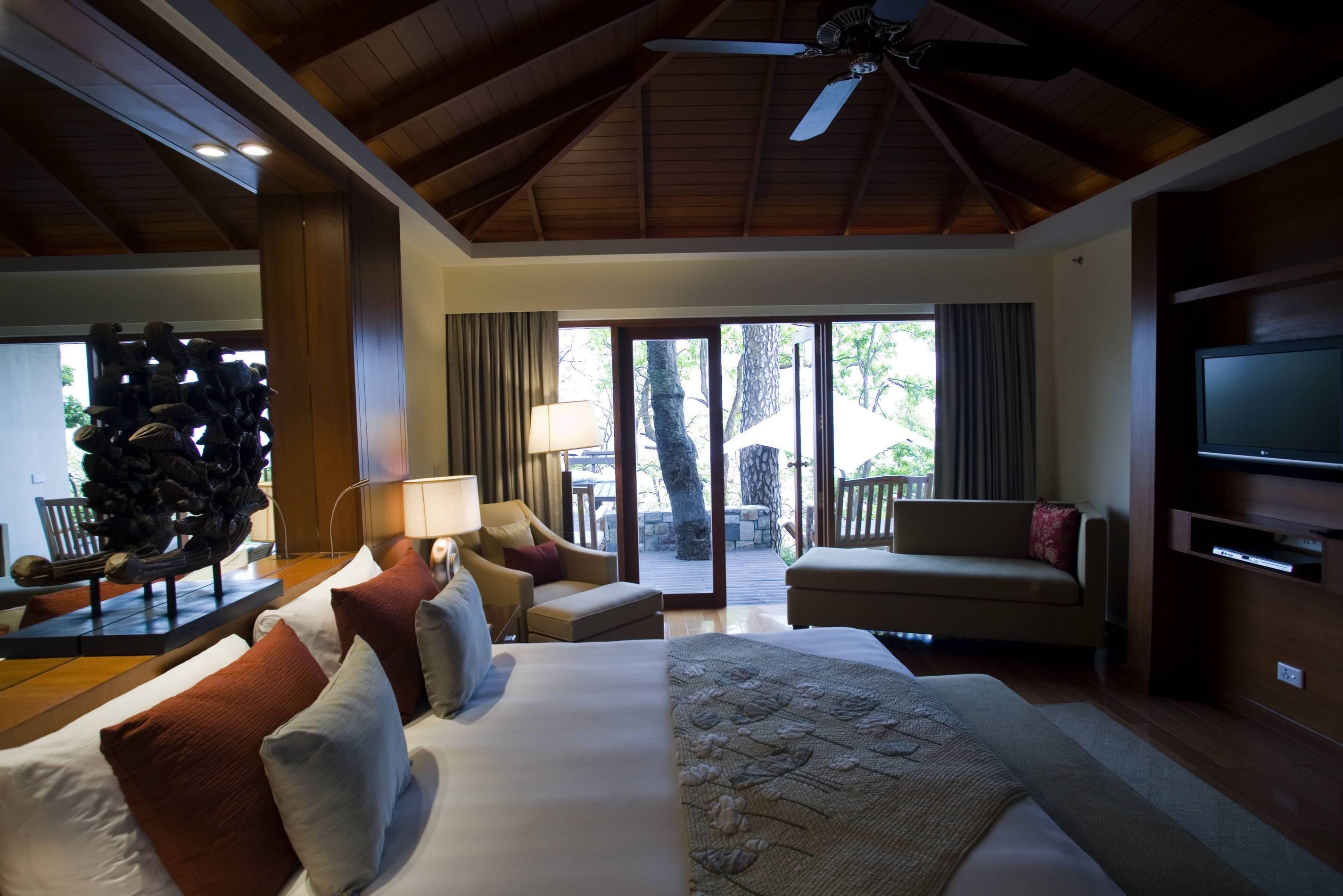Ananda Spa Villa Chambre Inde