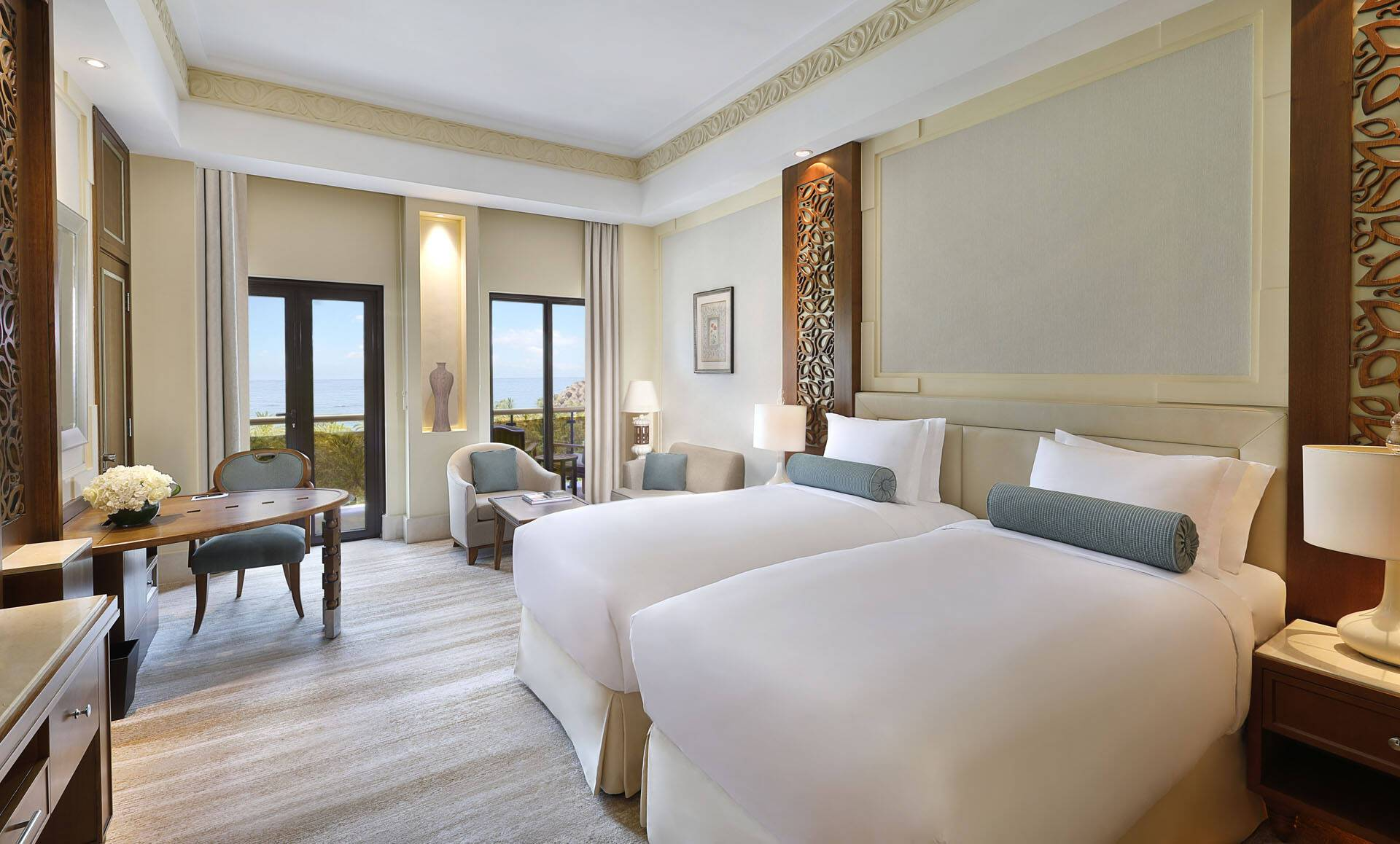 Al Bustan Palace Mascate Oman Deluxe SeaView Room