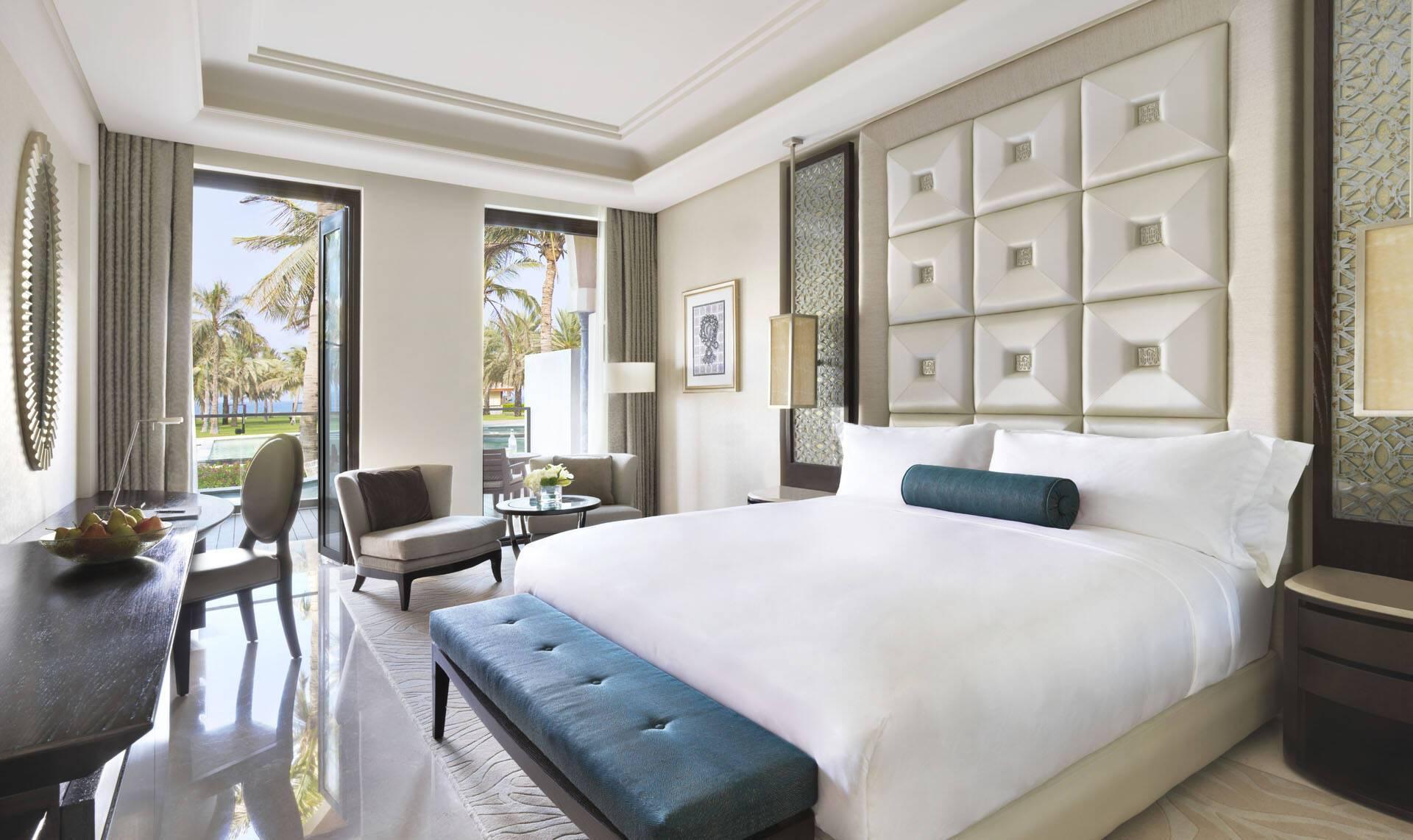 Al Bustan Palace Mascate Oman Lagoon Bedroom