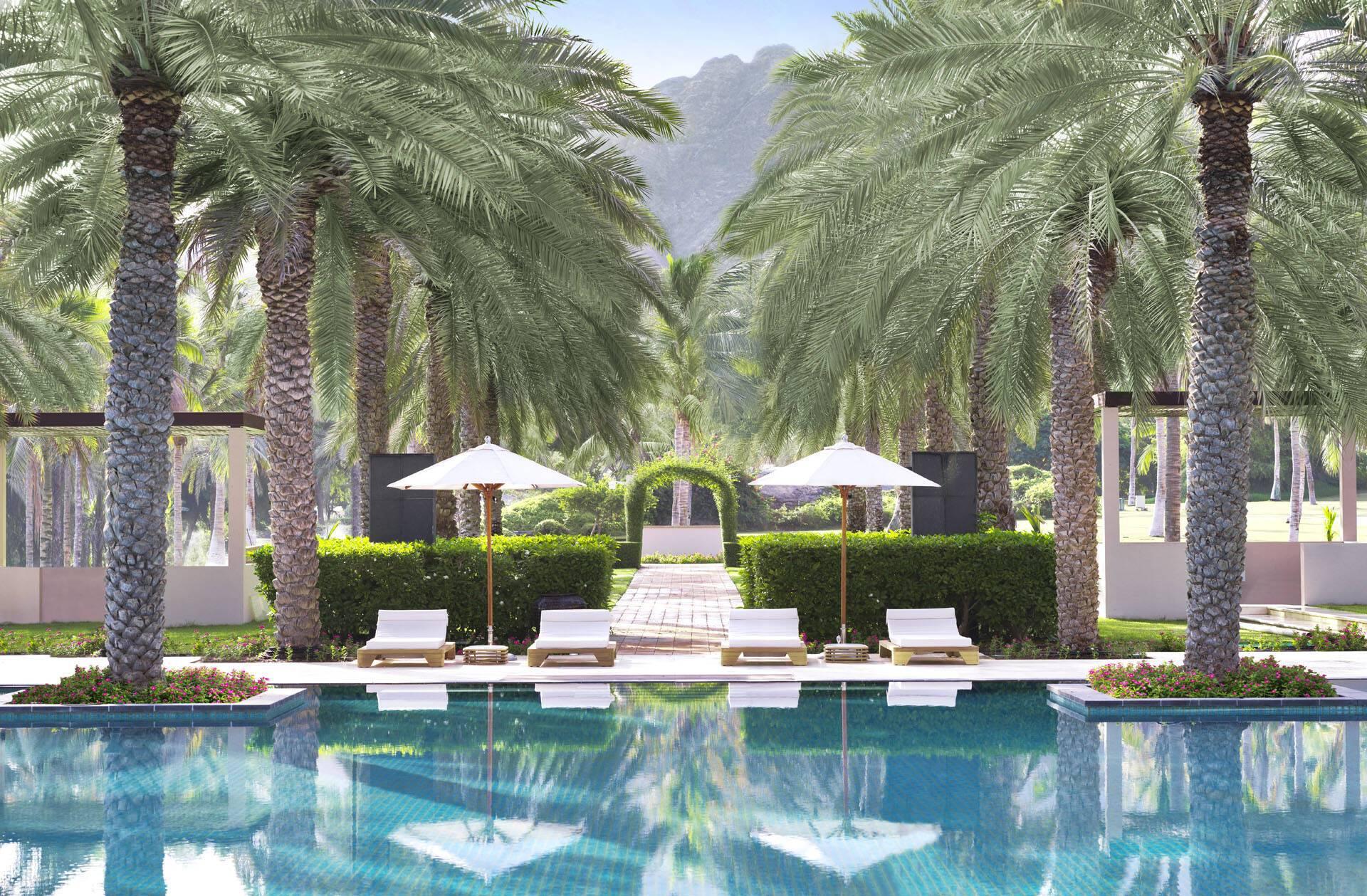 Al Bustan Palace Mascate Oman Piscine