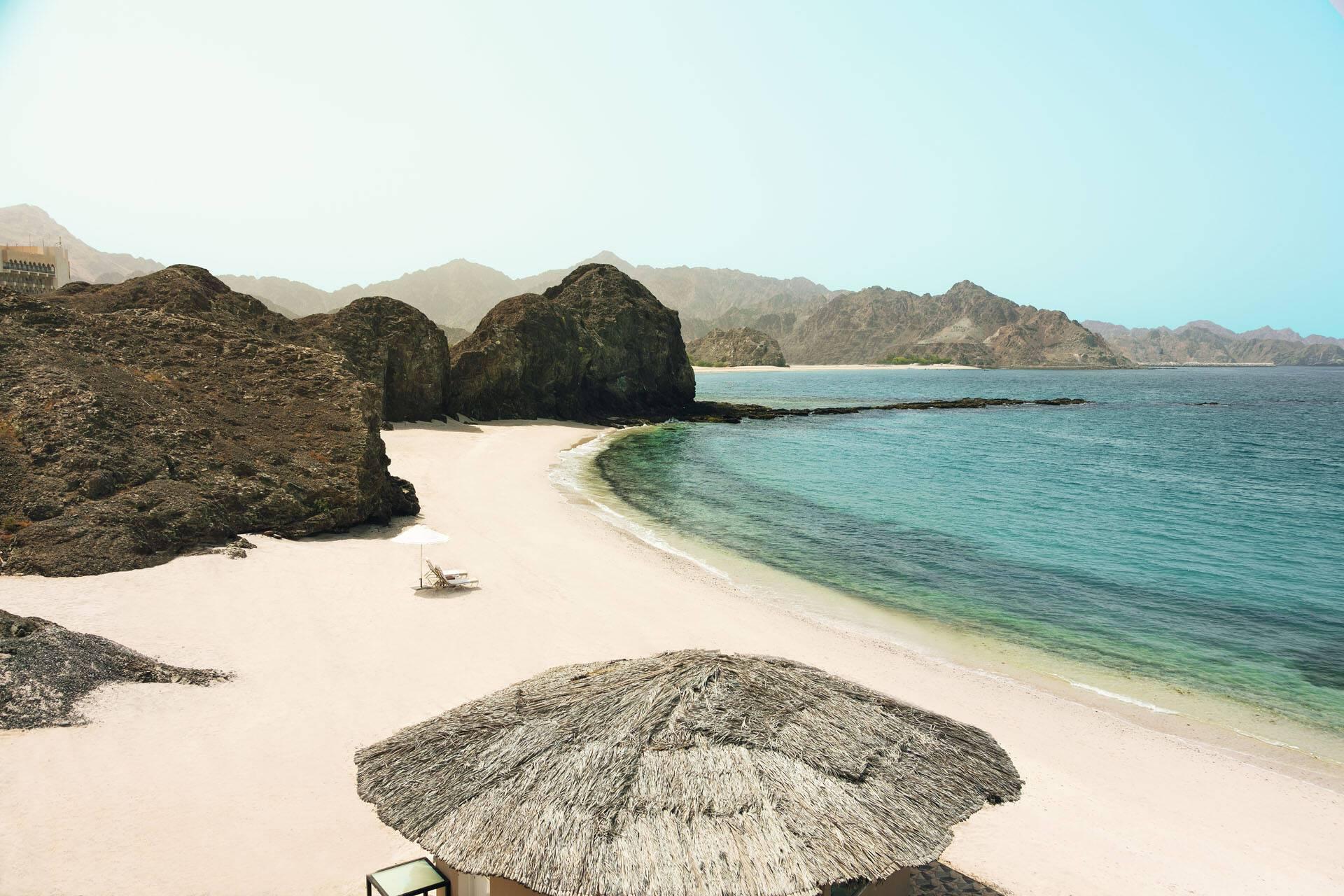 Al Bustan Palace Mascate Oman Plage