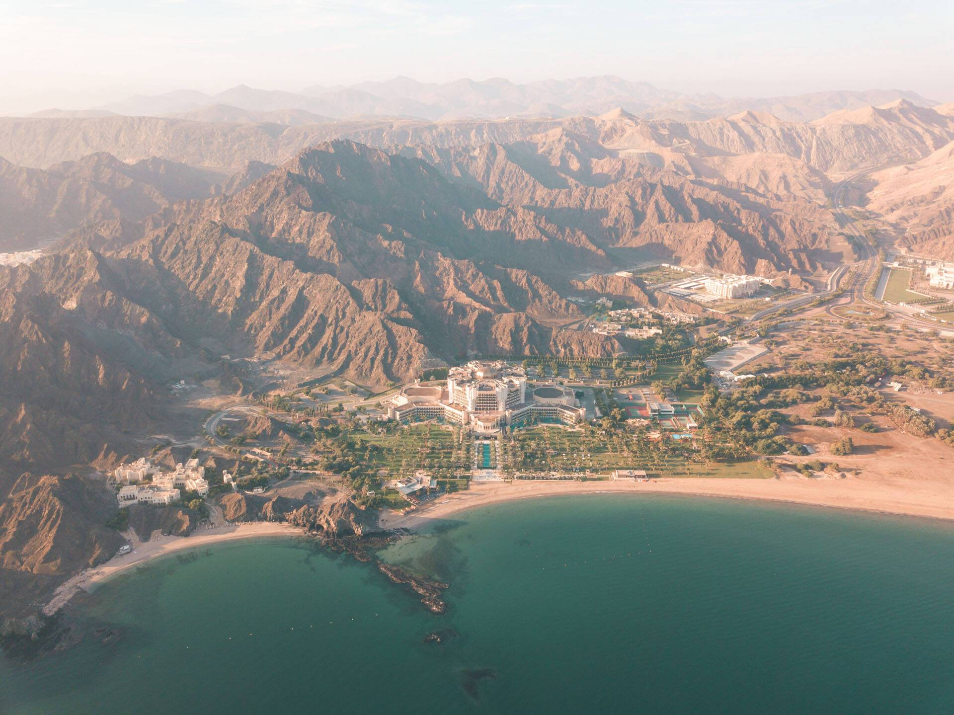 Al Bustan Palace Mascate Oman Vue