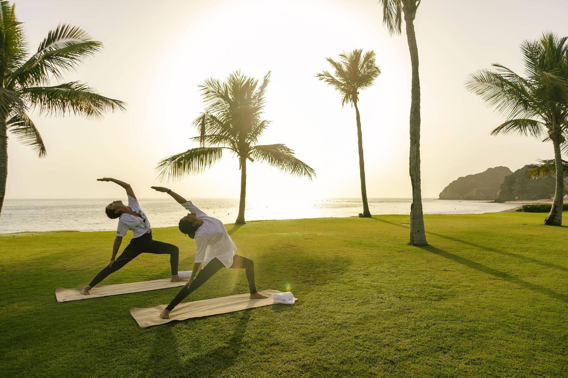 Al Bustan Palace Mascate Oman Yoga