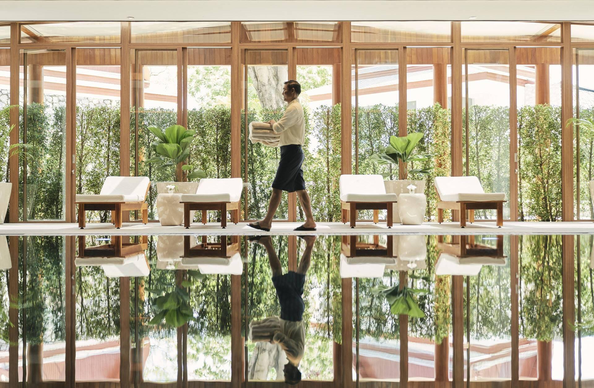 Chiva Som Thailande Pavilion Piscine