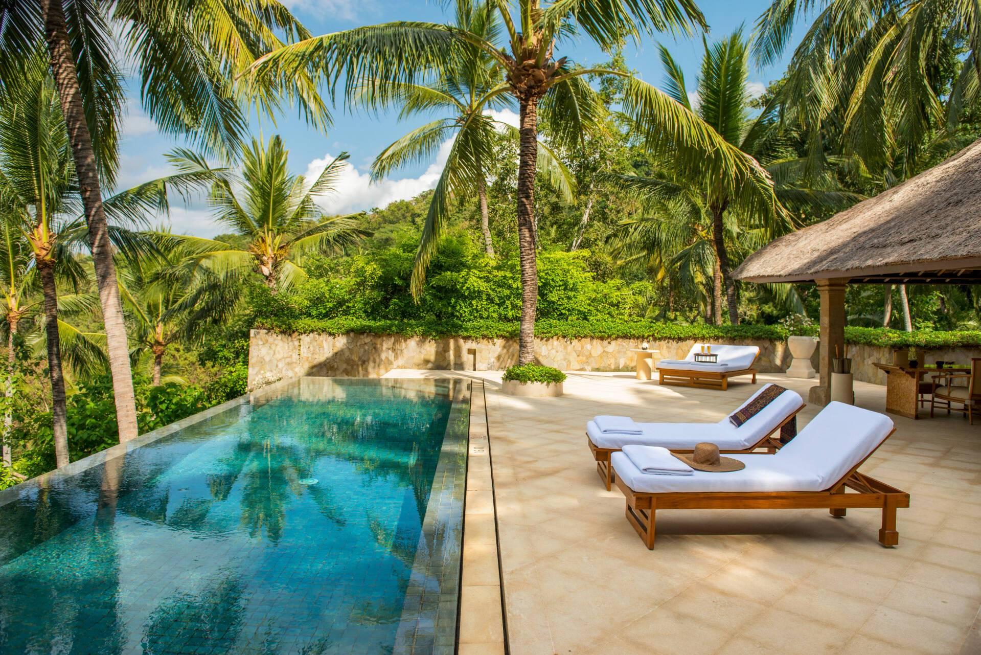 Amankila Kilasari Suite Terrasse Bali Indonesie Amanresorts