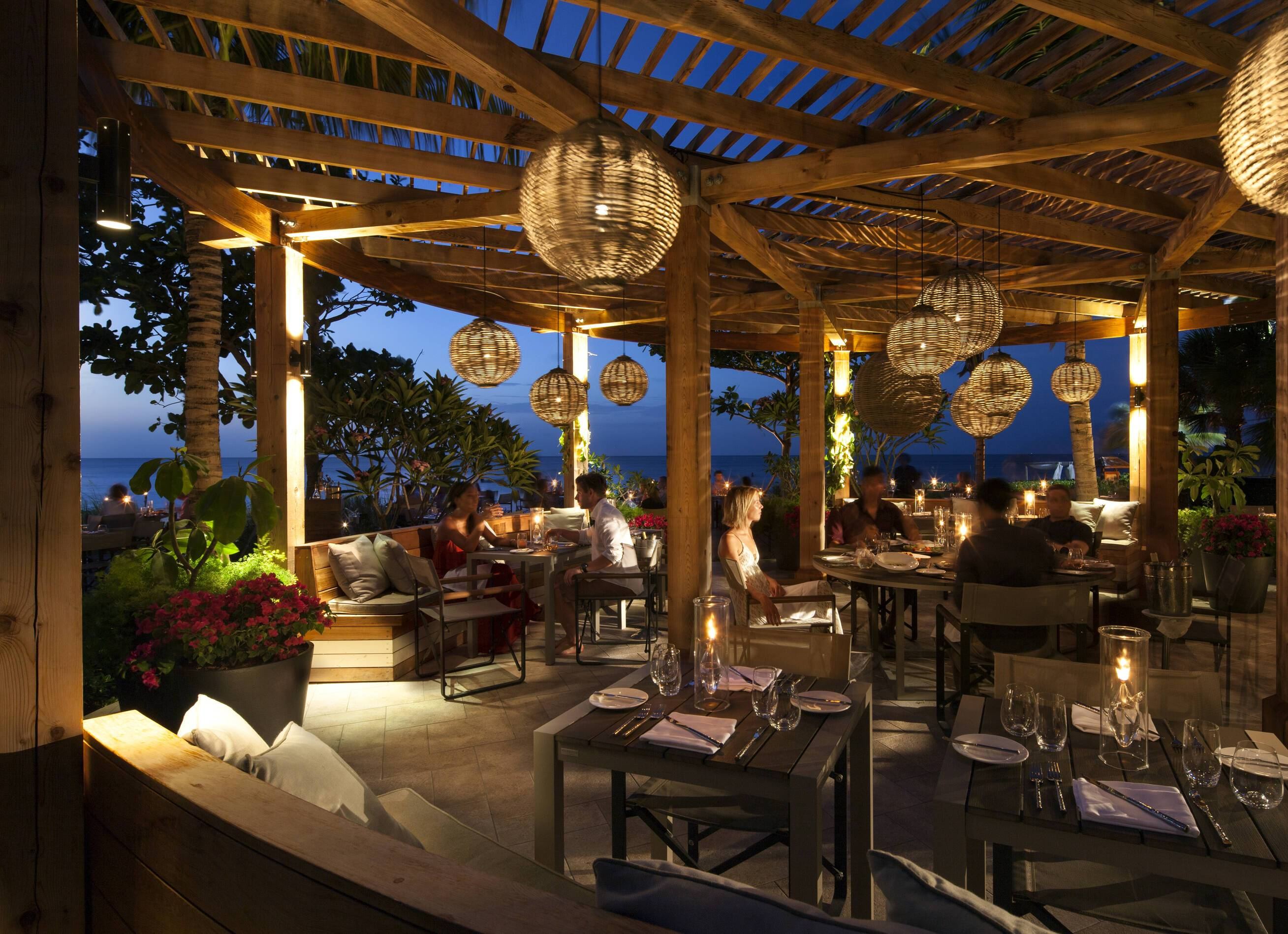 Grace Bay Restaurant Turks et Caicos