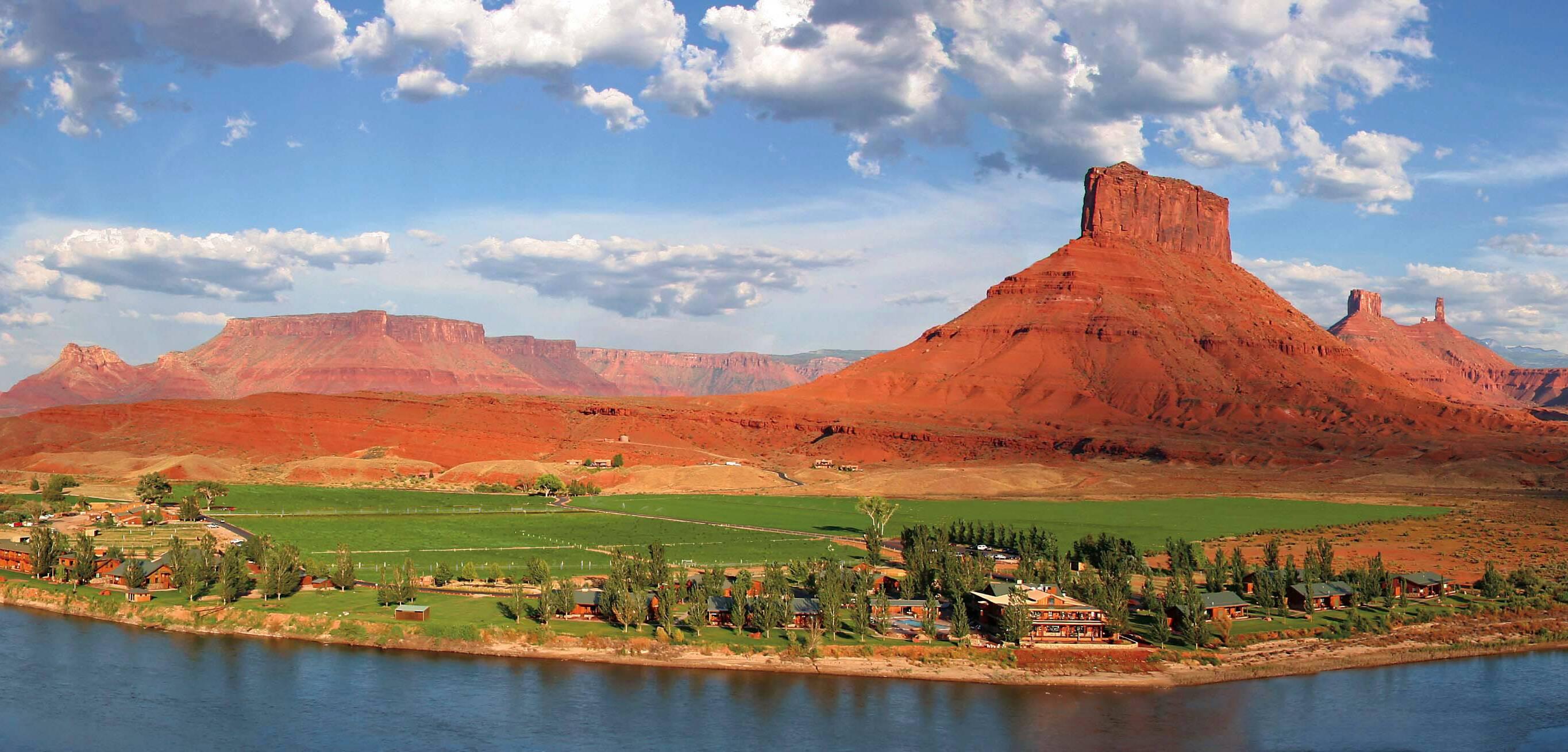 Sorrel River Panorama Ouest Americain