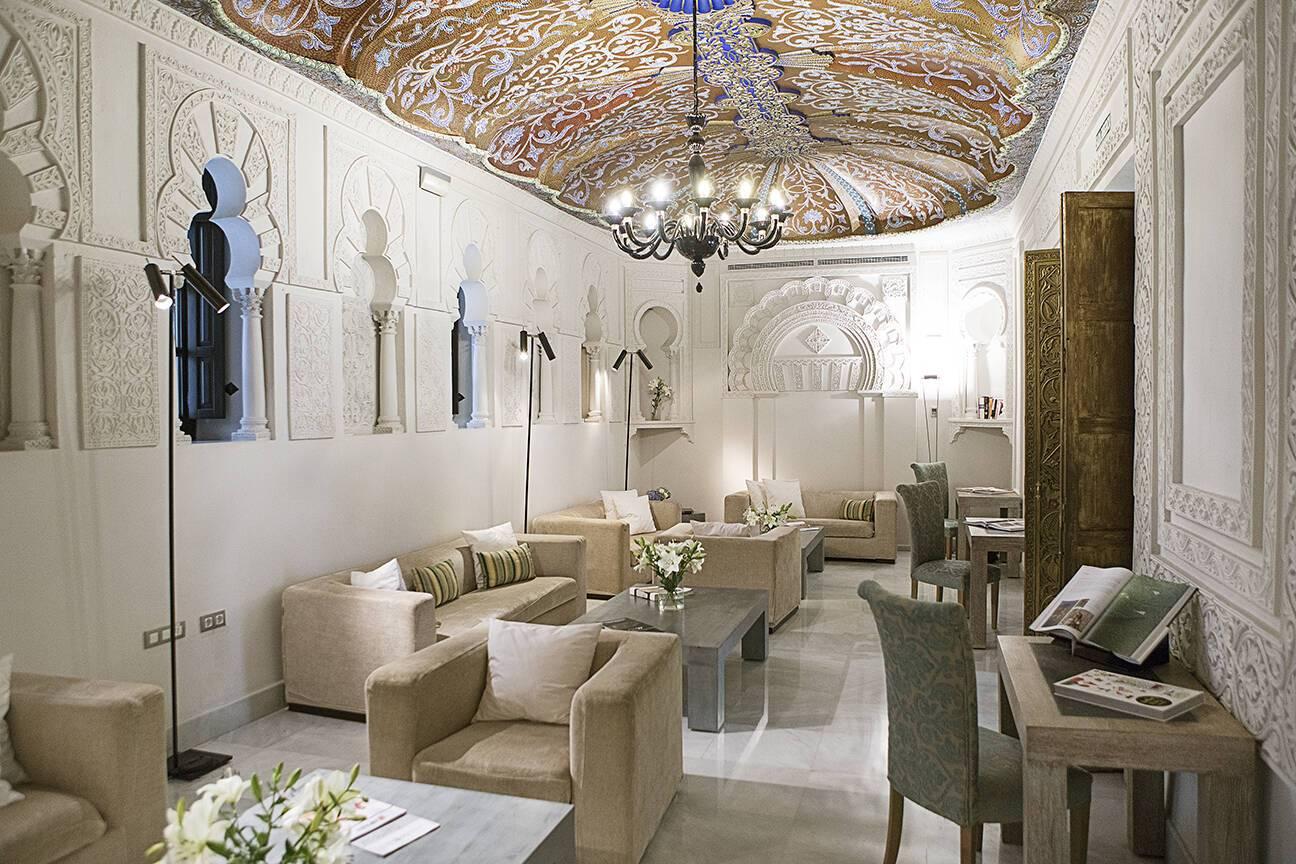 Cordoue Hospes Palacio Bailio Salon