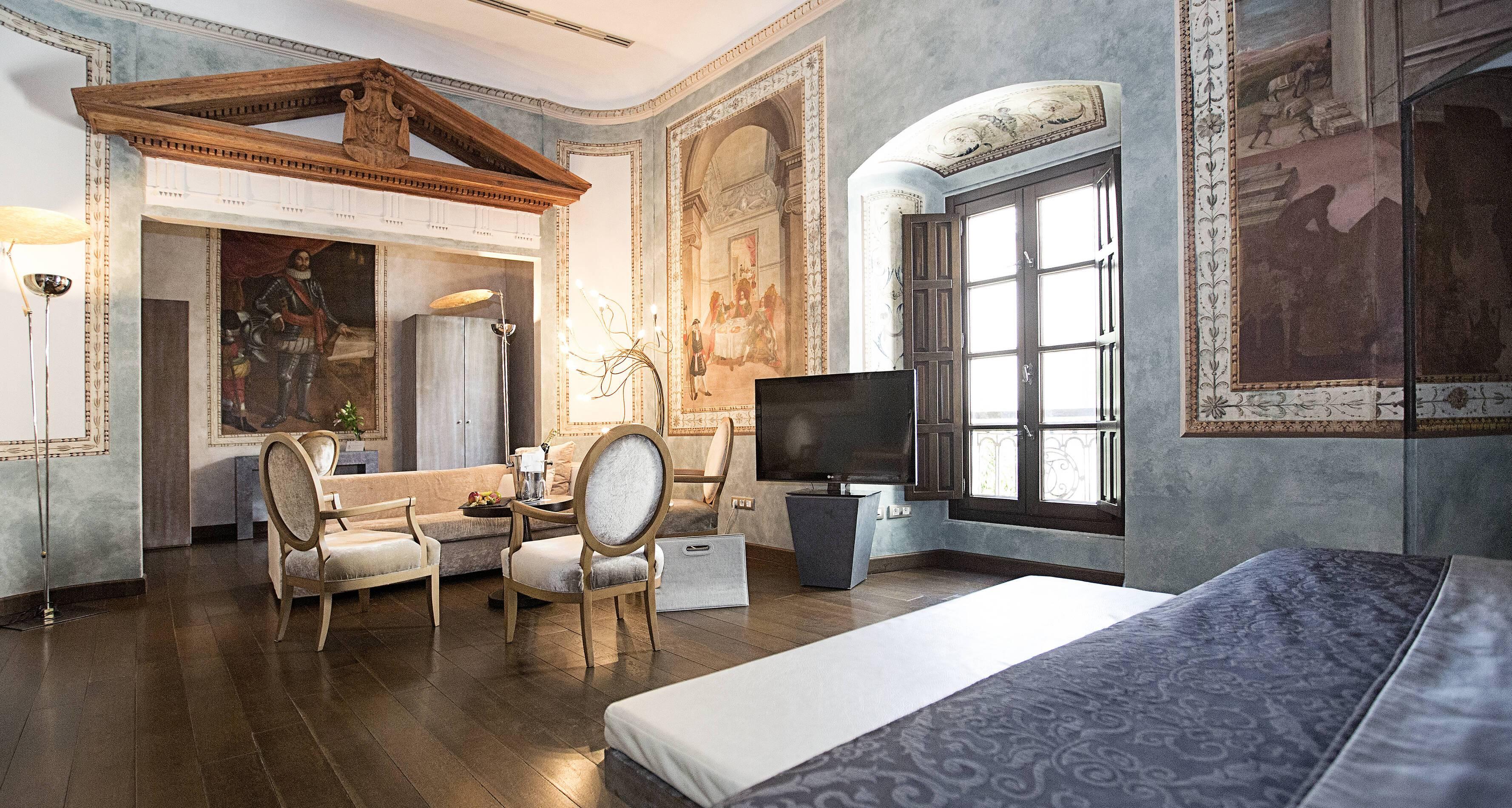 Cordoue Hospes Palacio Bailio Suite