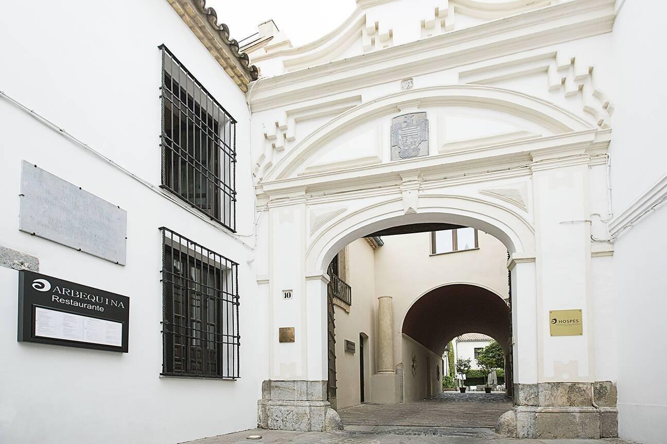 Hotel Hospes Palacio Bailio Cordoue Entree