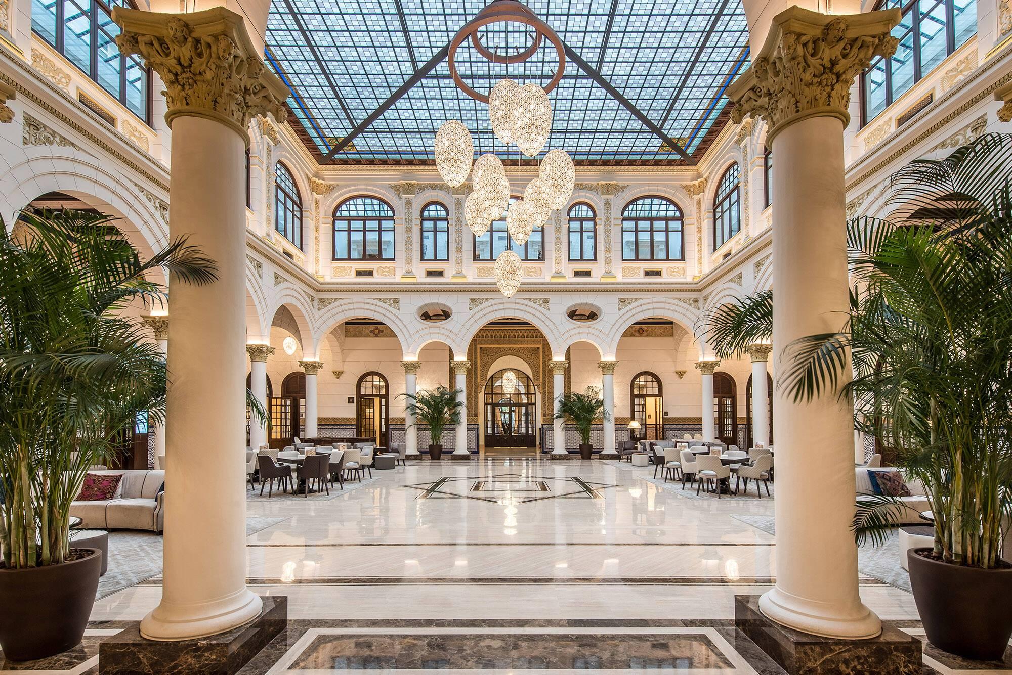 Malaga Gran Hotel Miramar Lobby
