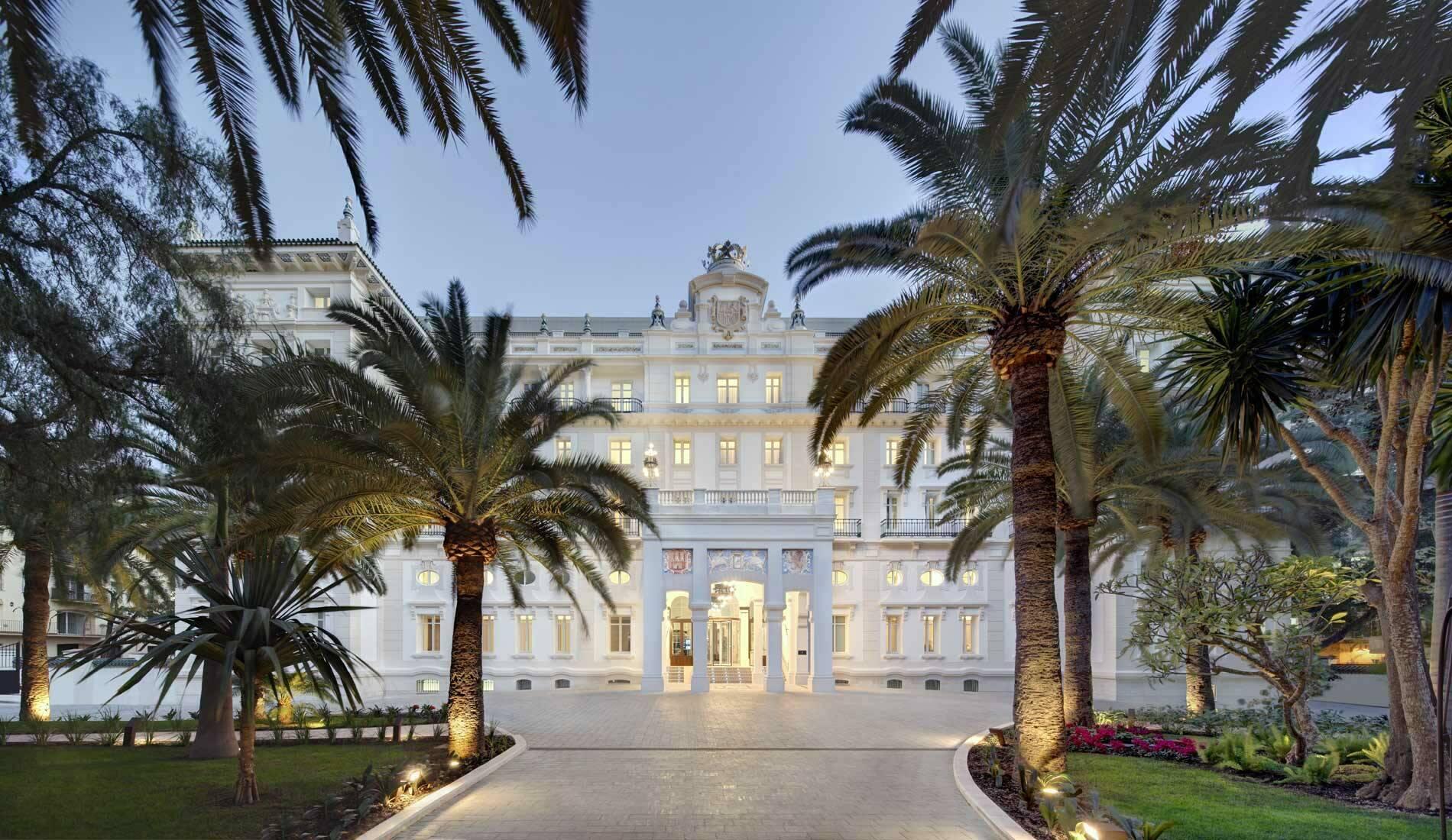Malaga Gran Hotel Miramar