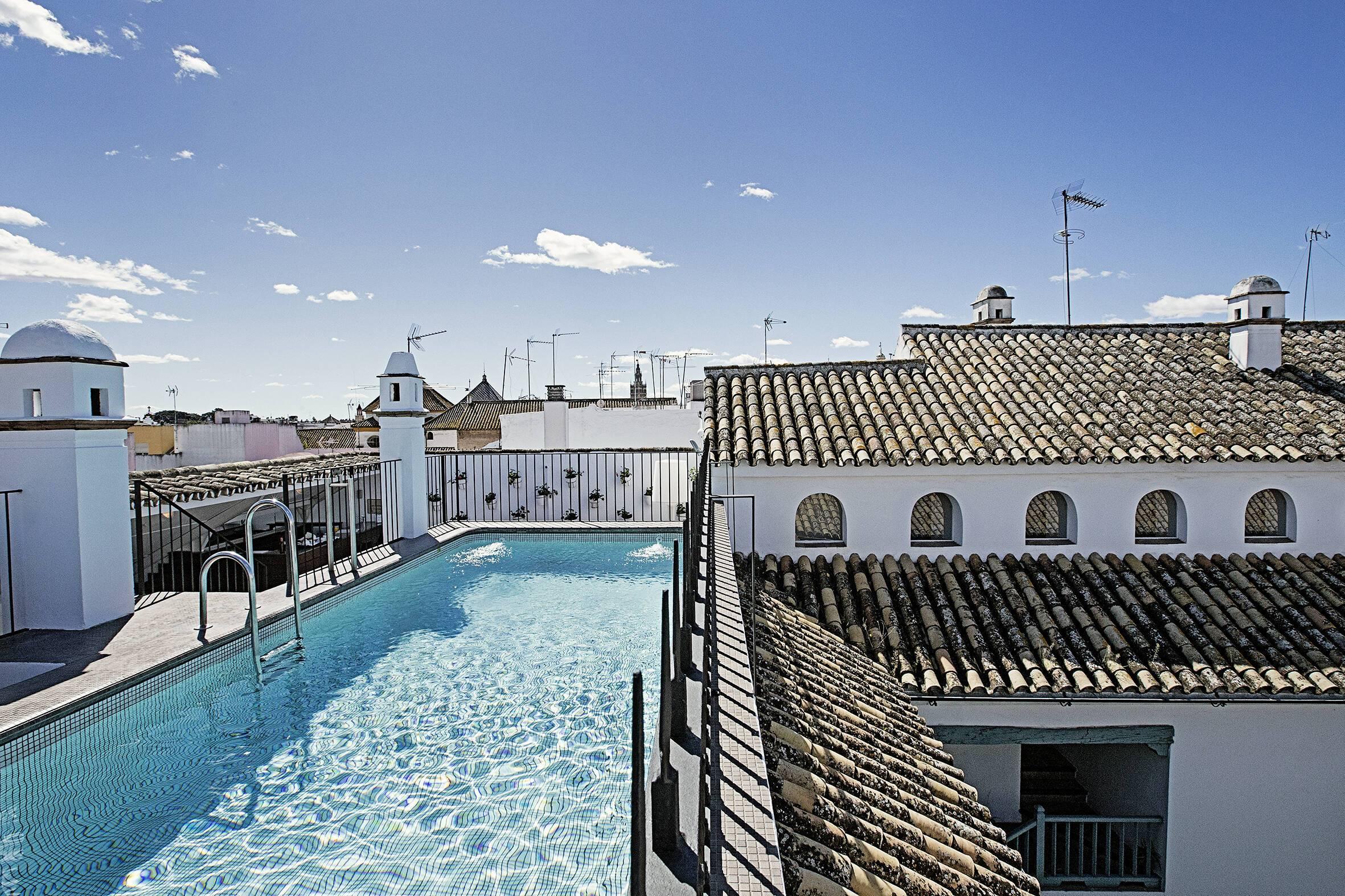 Seville Hospes Las Casas del Rey de Baeza Piscine