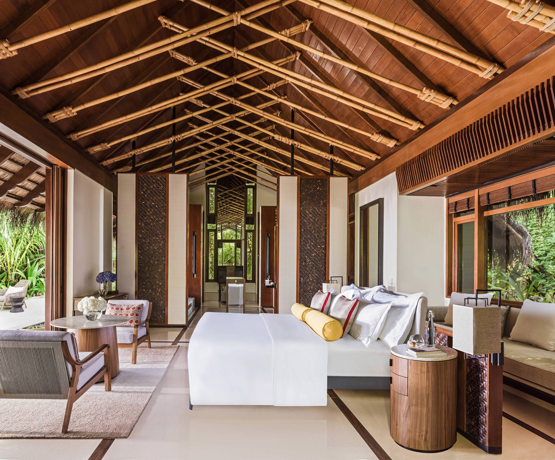 One and Only Reethi Rah Beach Villa Maldives
