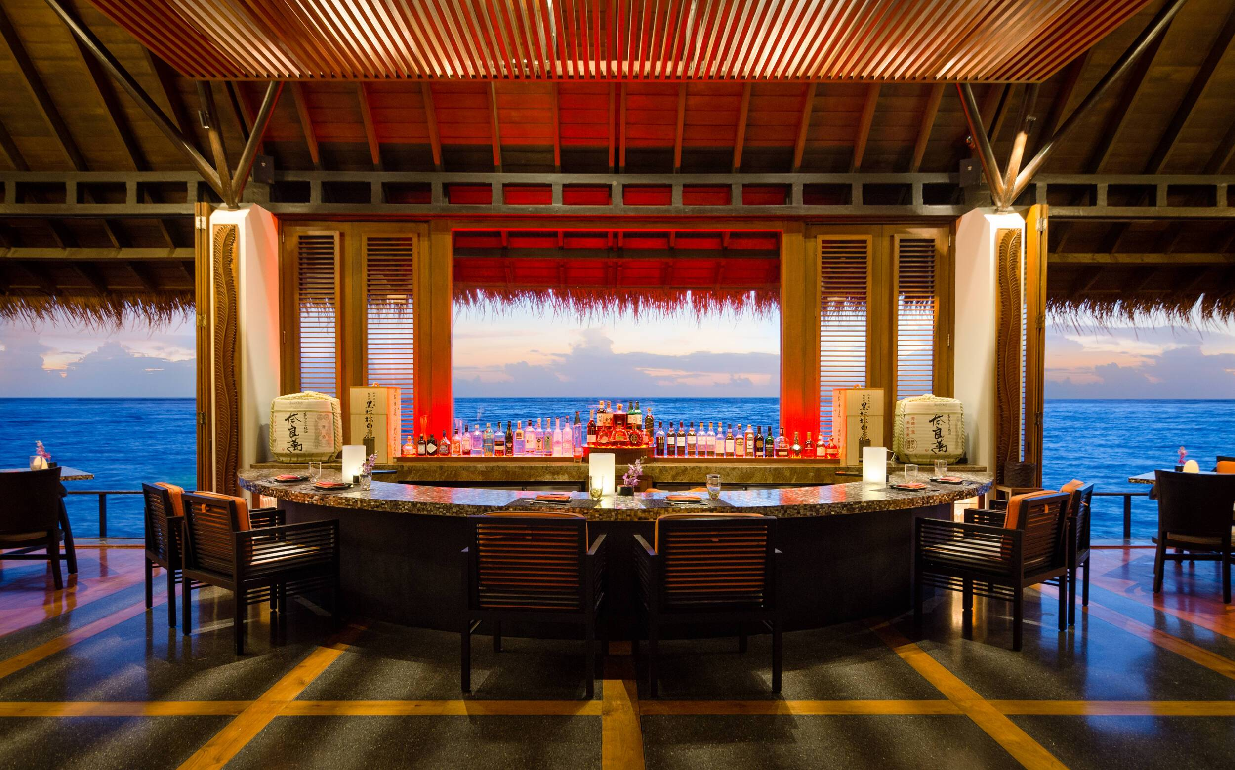 One and Only Reethi Rah Restaurant Maldives