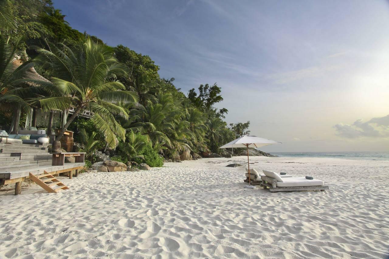 North Island Plage Privee Seychelles