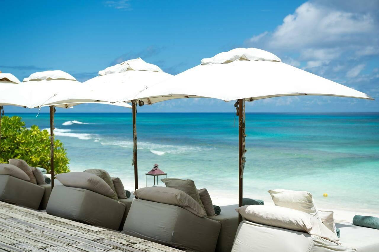 North Island Plage Seychelles