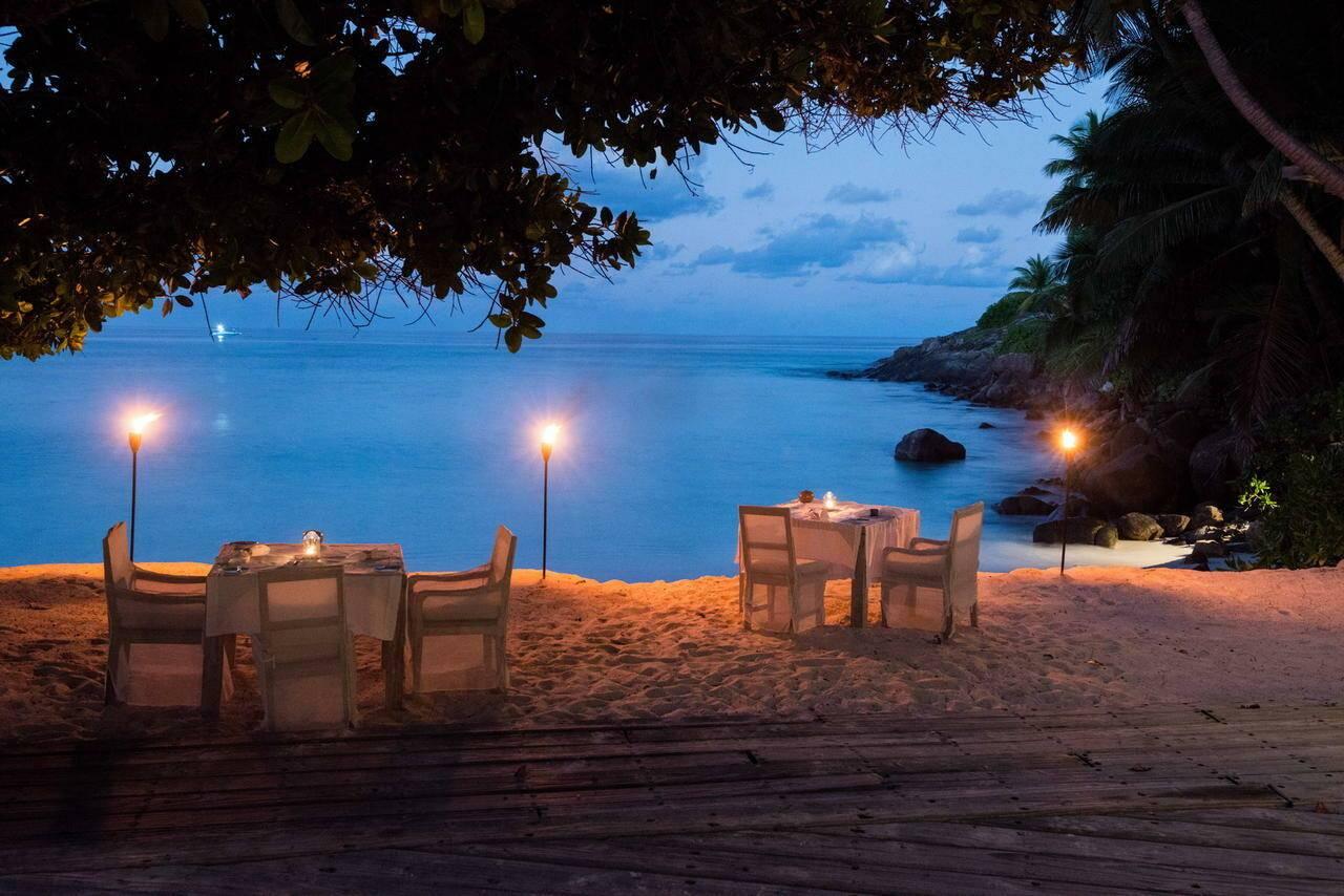 North Island Restaurant Seychelles