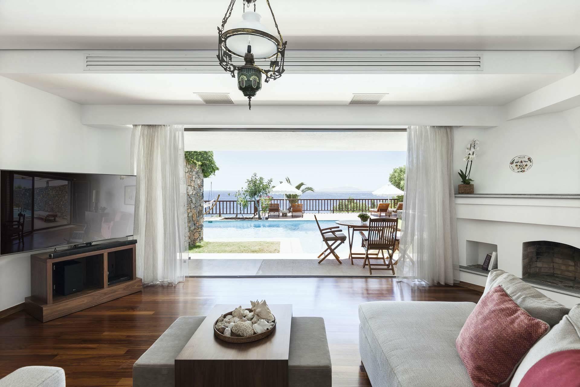 Elounda Mare Crete villa palace view