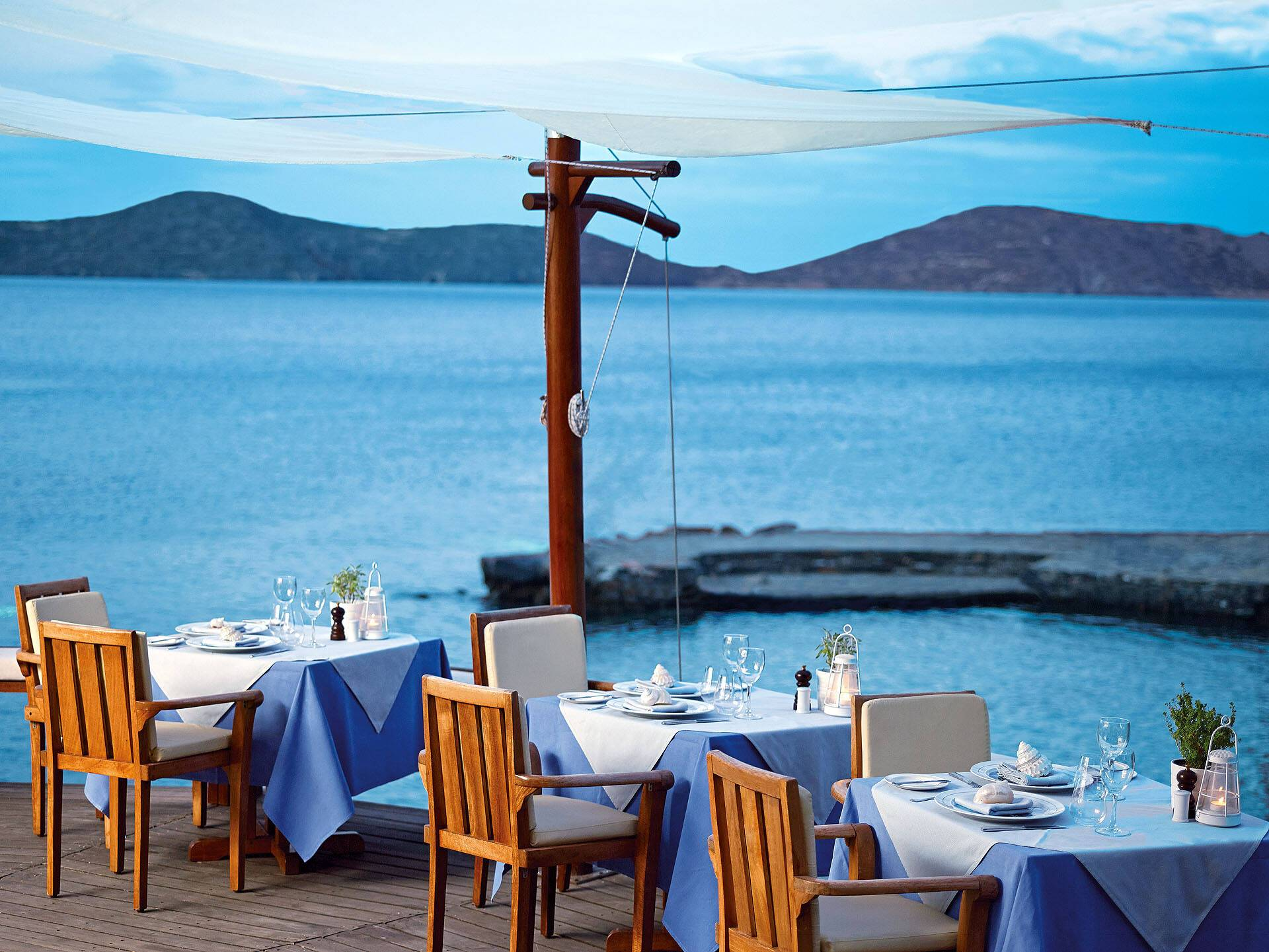 Elounda Mare Restaurant The Yacht Club Crete
