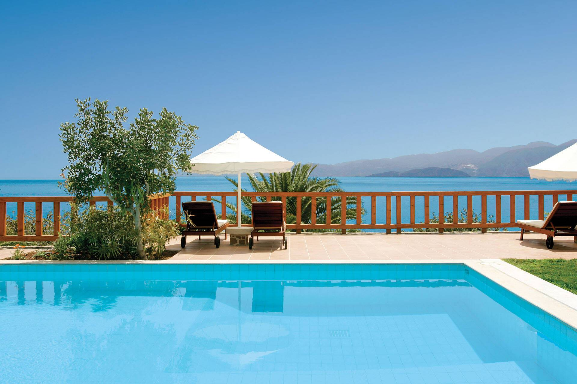 Elounda Mare Royalty Suite King Minos Piscine Crete