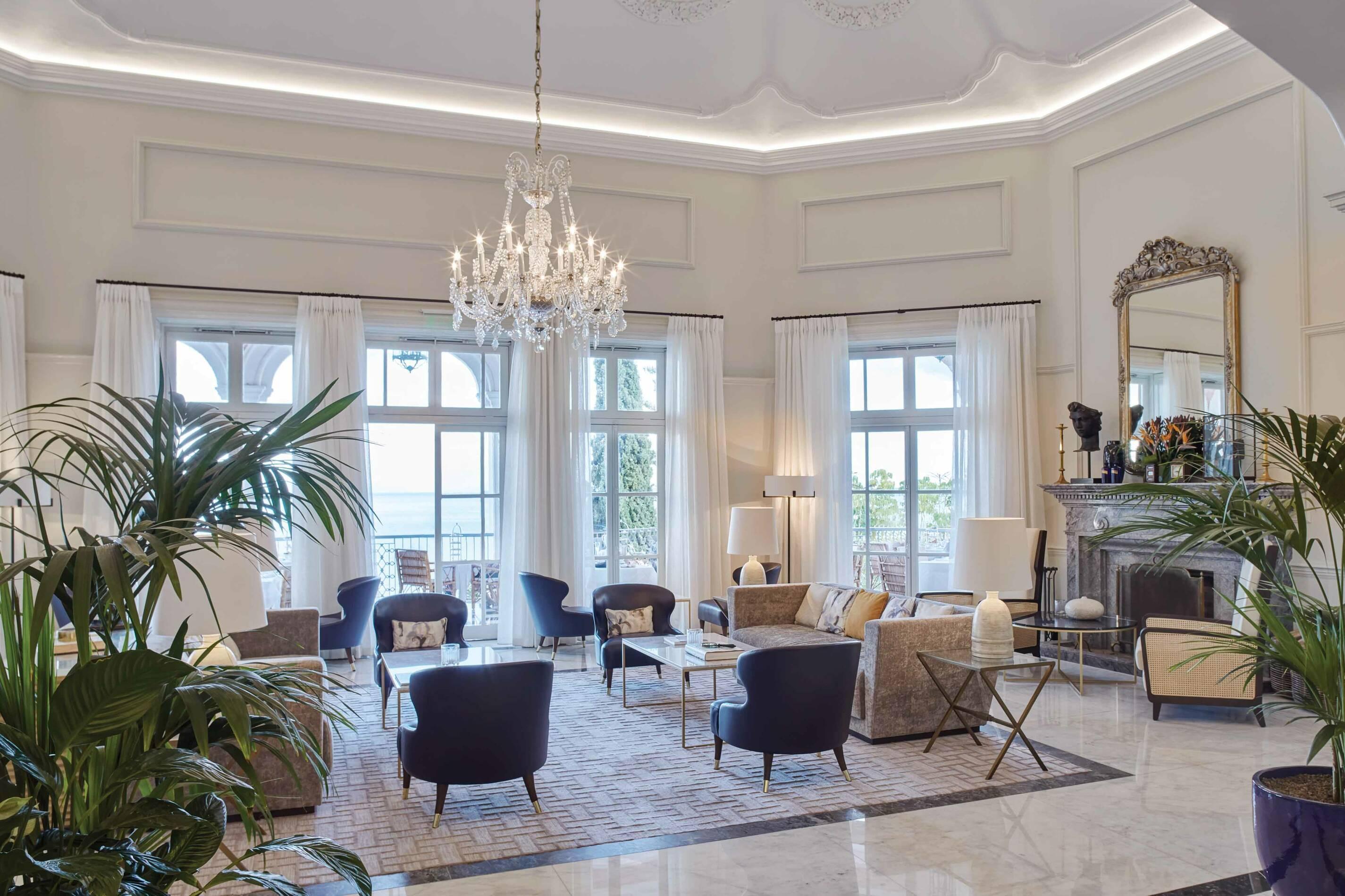 Belmond Reids Palace Madere Salon