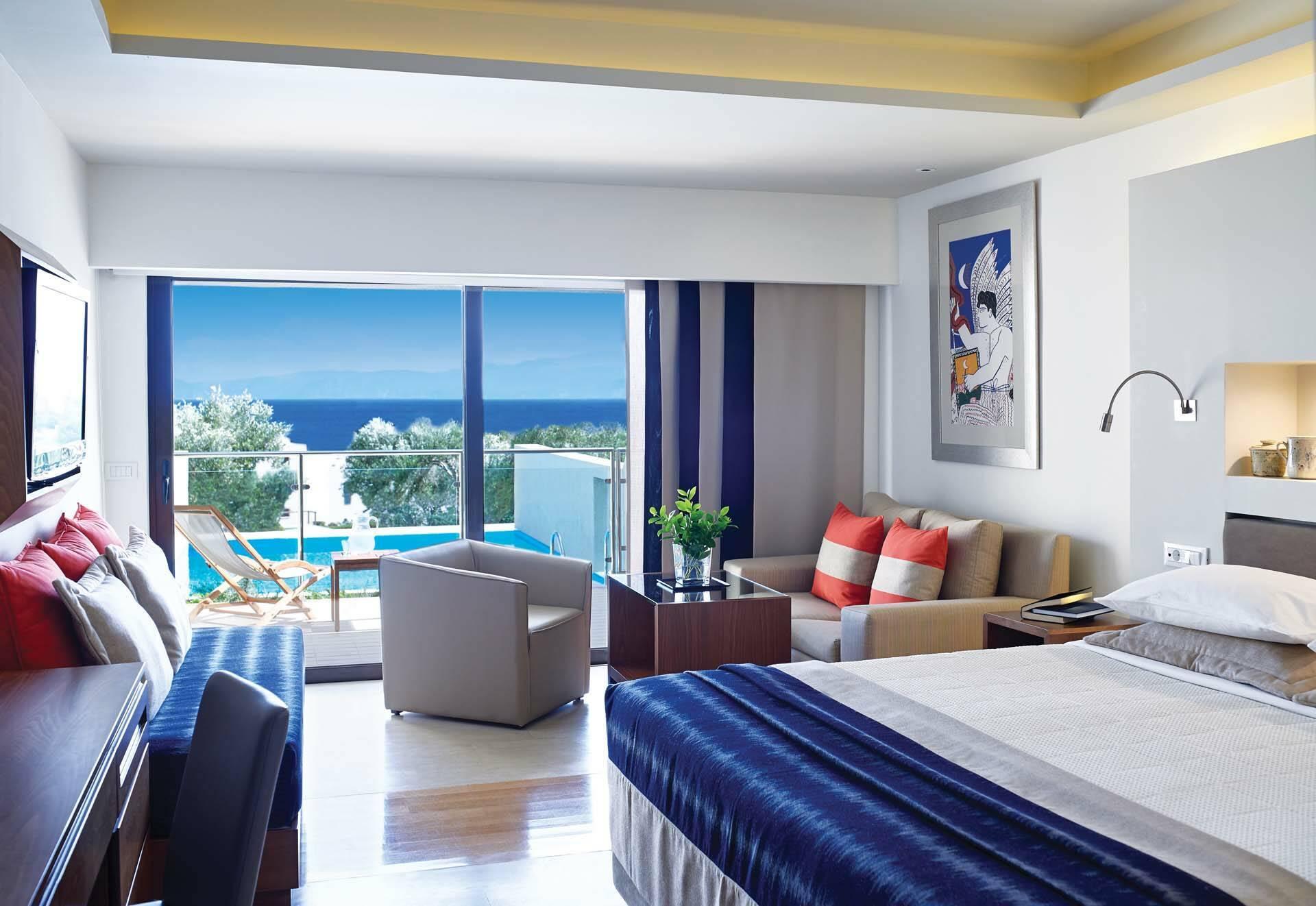 Porto Elounda Crete room view