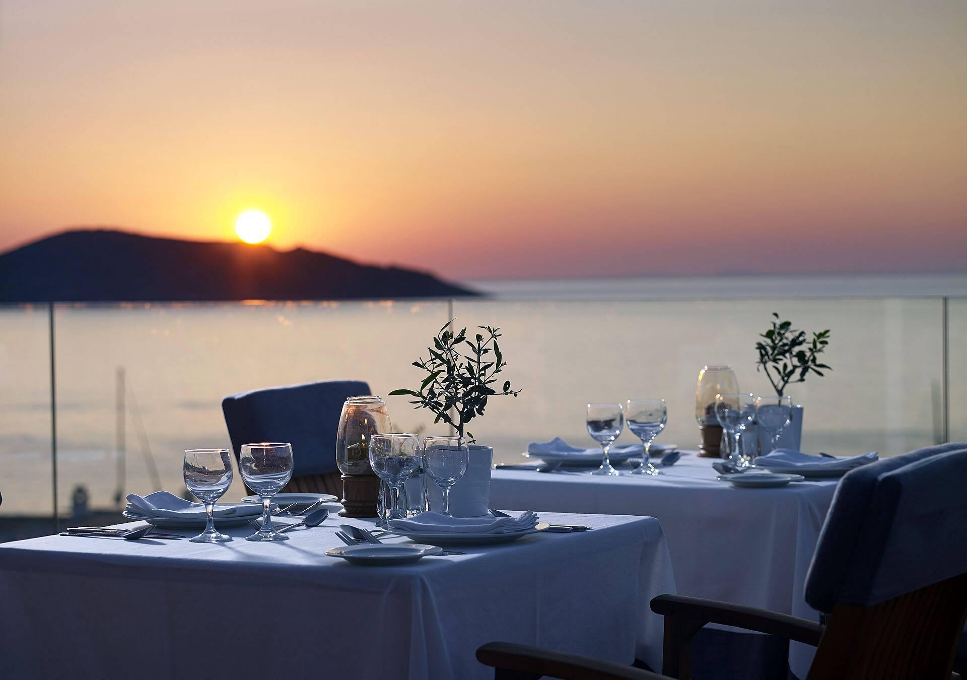 Porto Elounda Restaurant Nasfika Crete