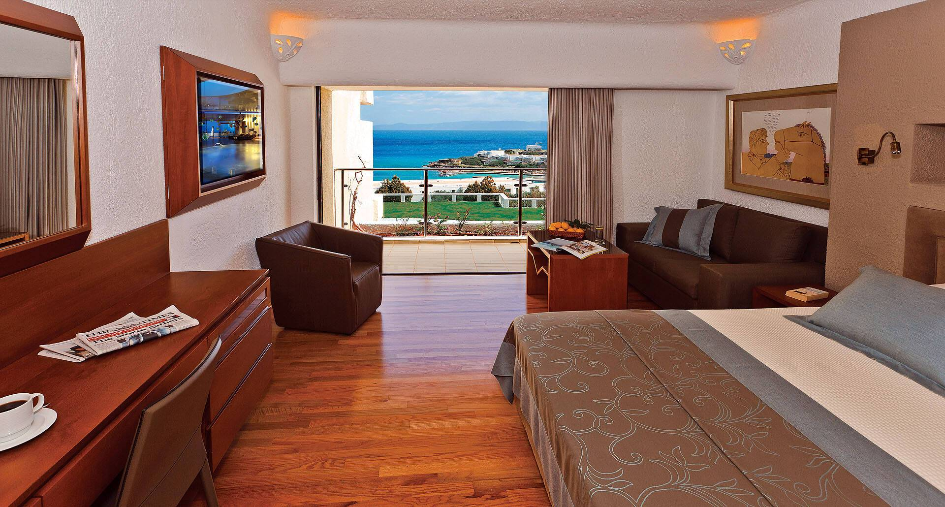 Porto Elounda Sea View Room Crete