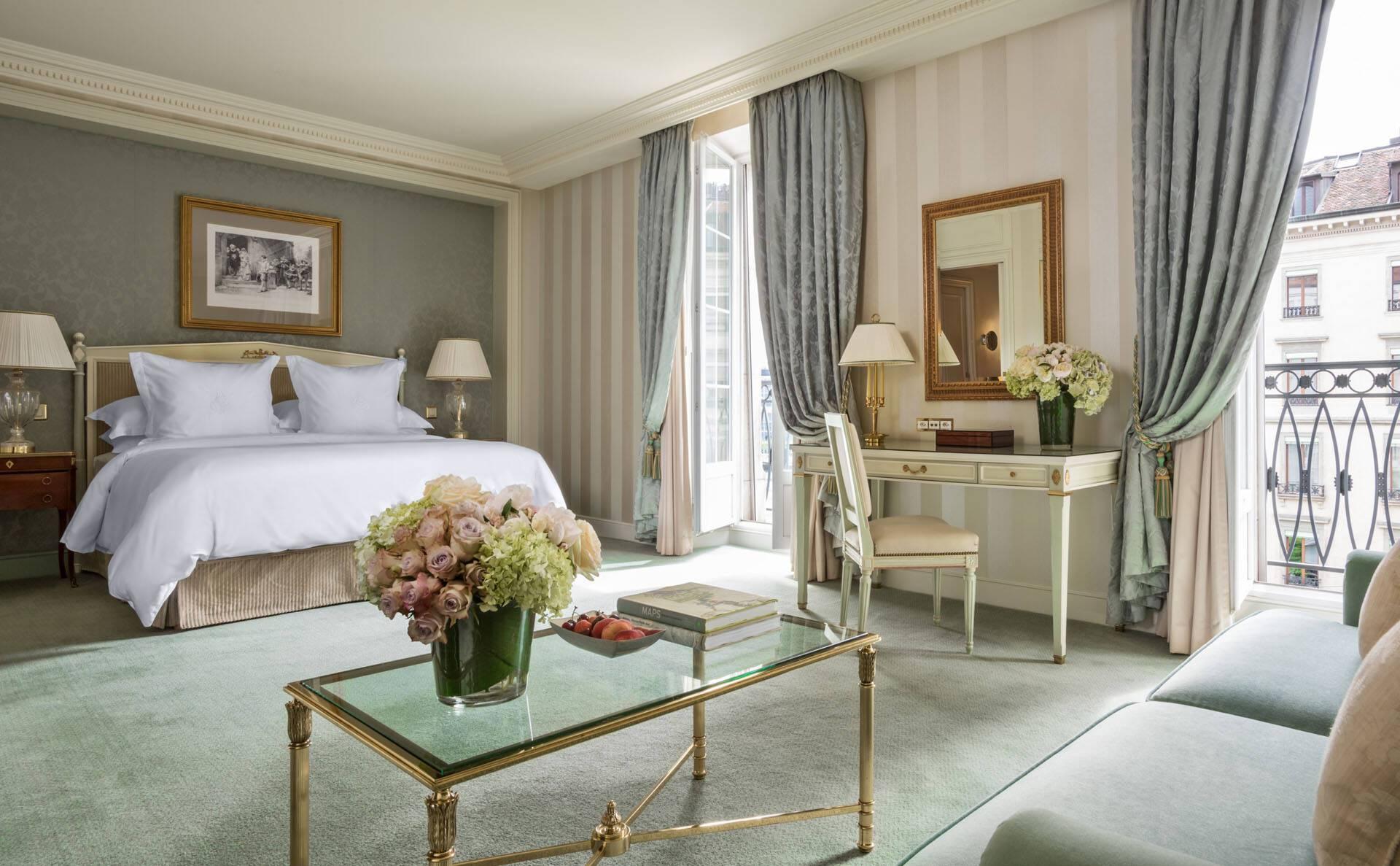 Four Seasons Geneve Bergues Junior Suite