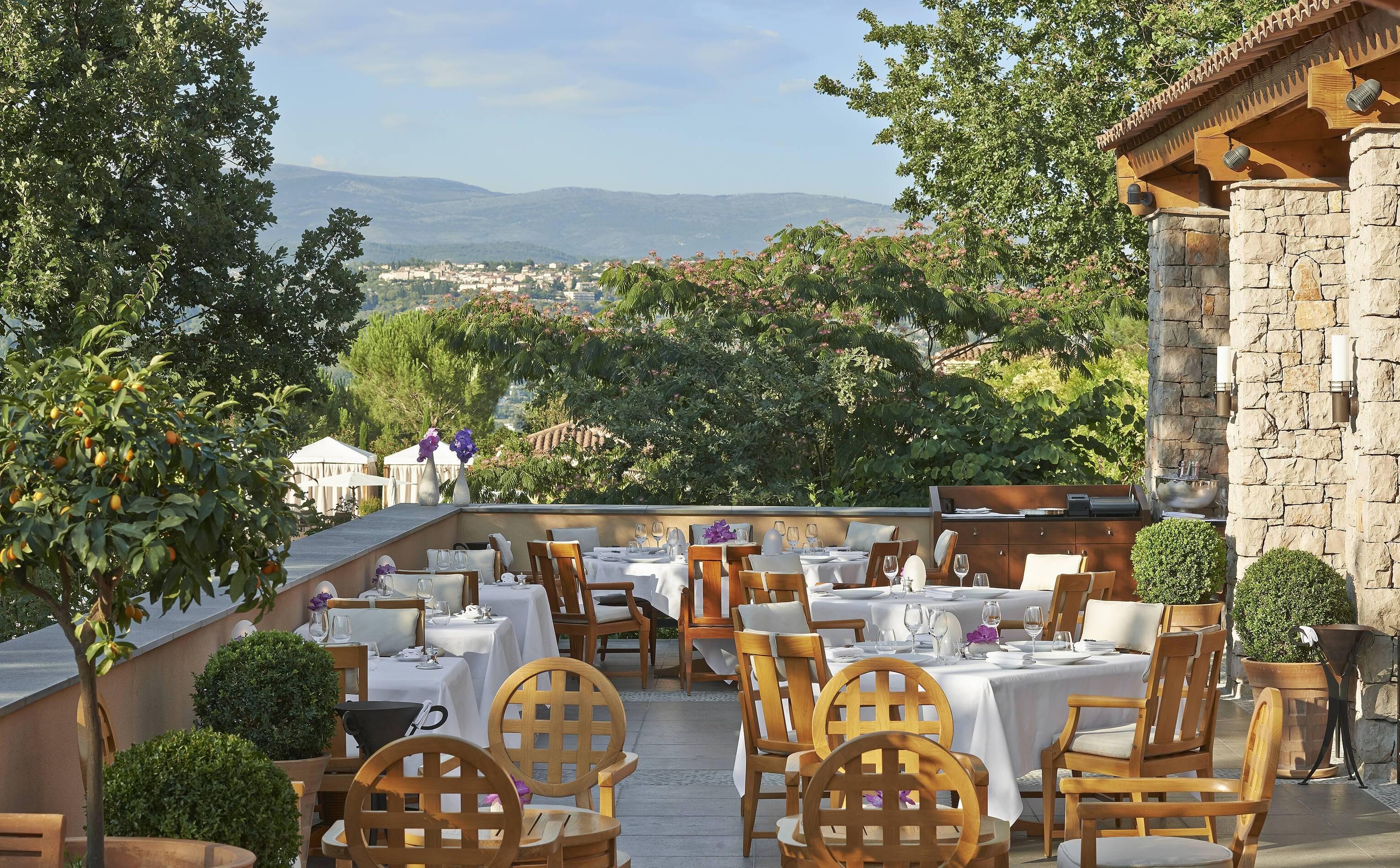 Terre Blanche Restaurant Faventia Provence