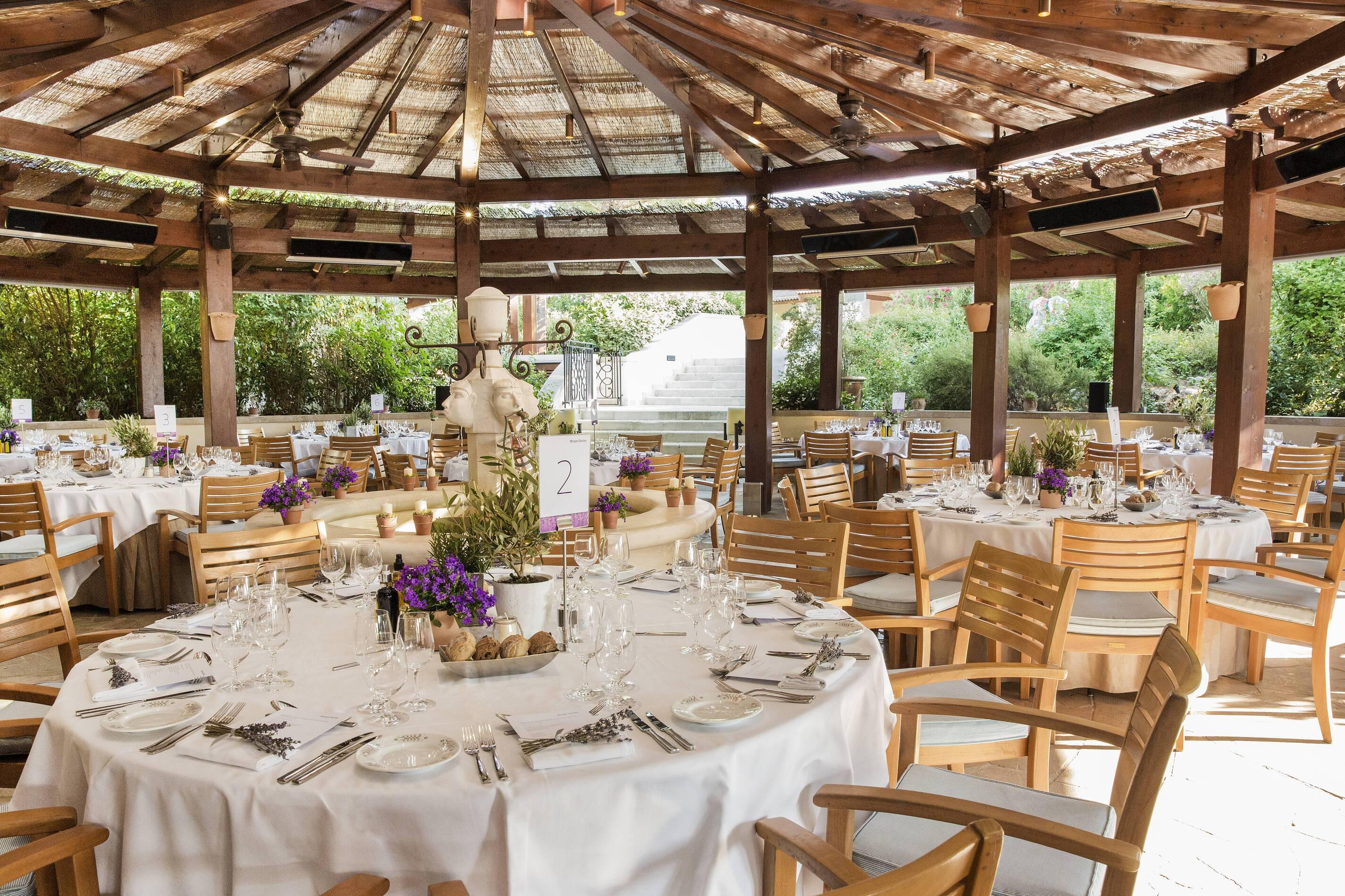 Terre Blanche Restaurant Le Tousco Provence