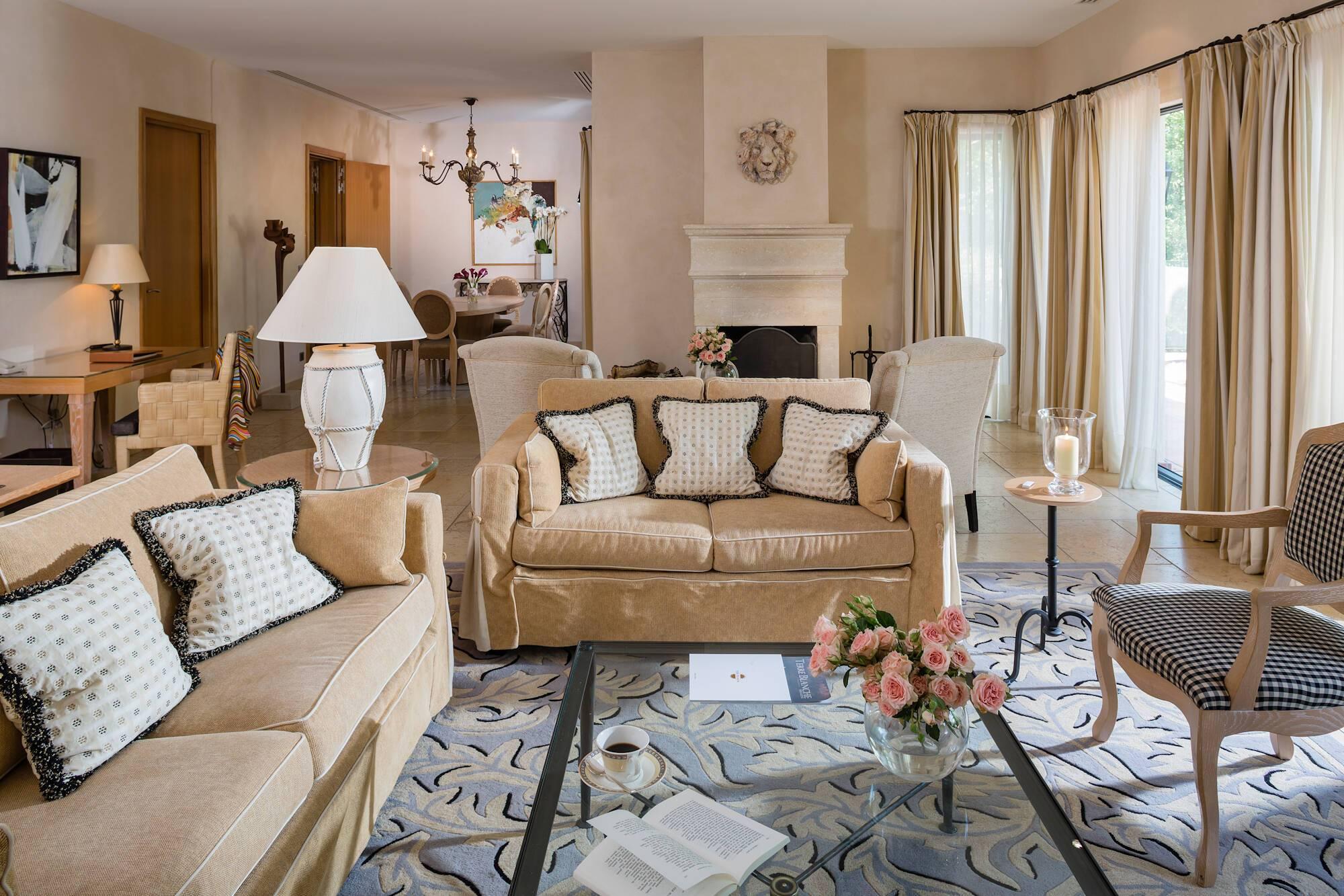 Terre Blanche Villa Lounge Provence