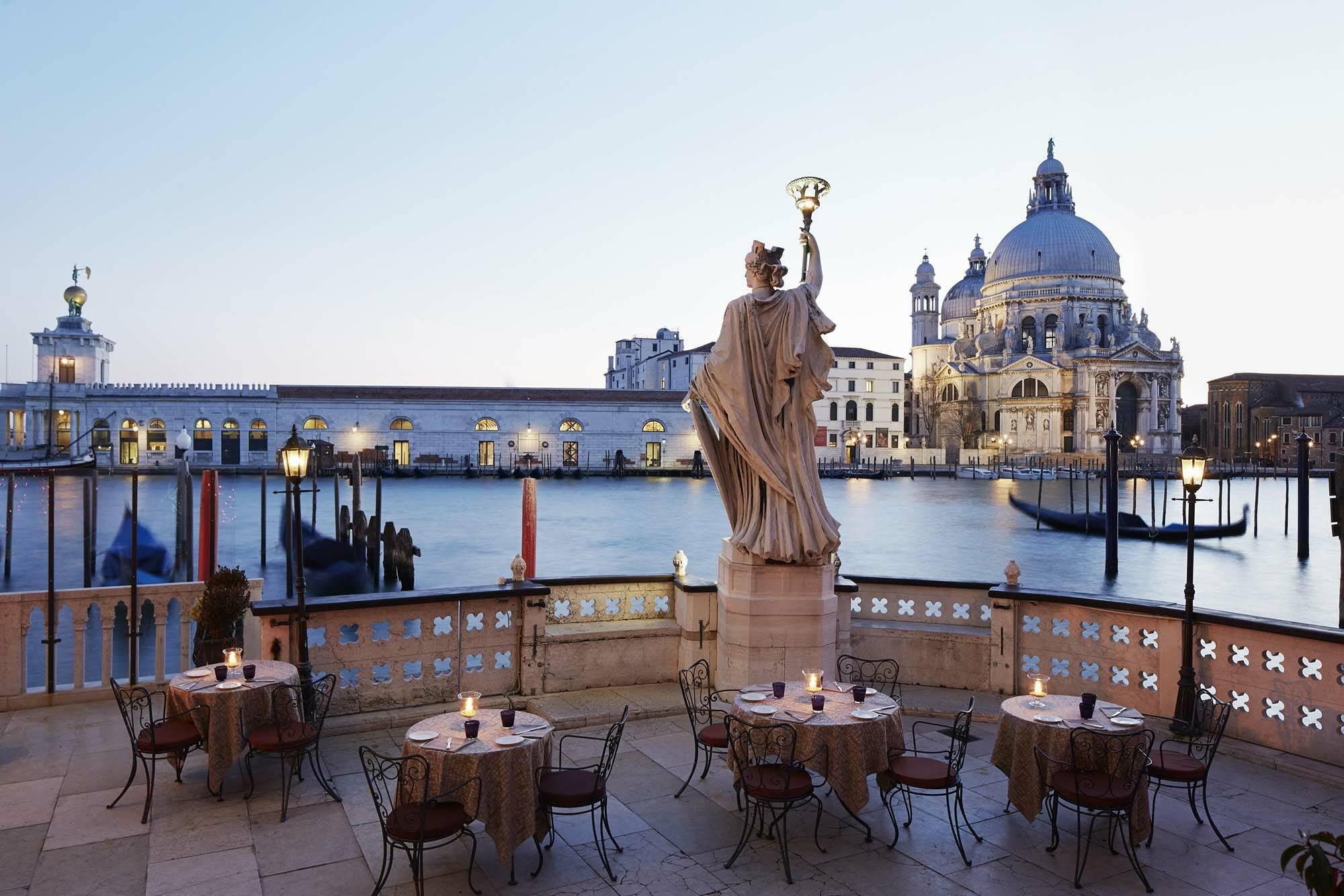Bauer Venezia Venise Italie Canale terrace