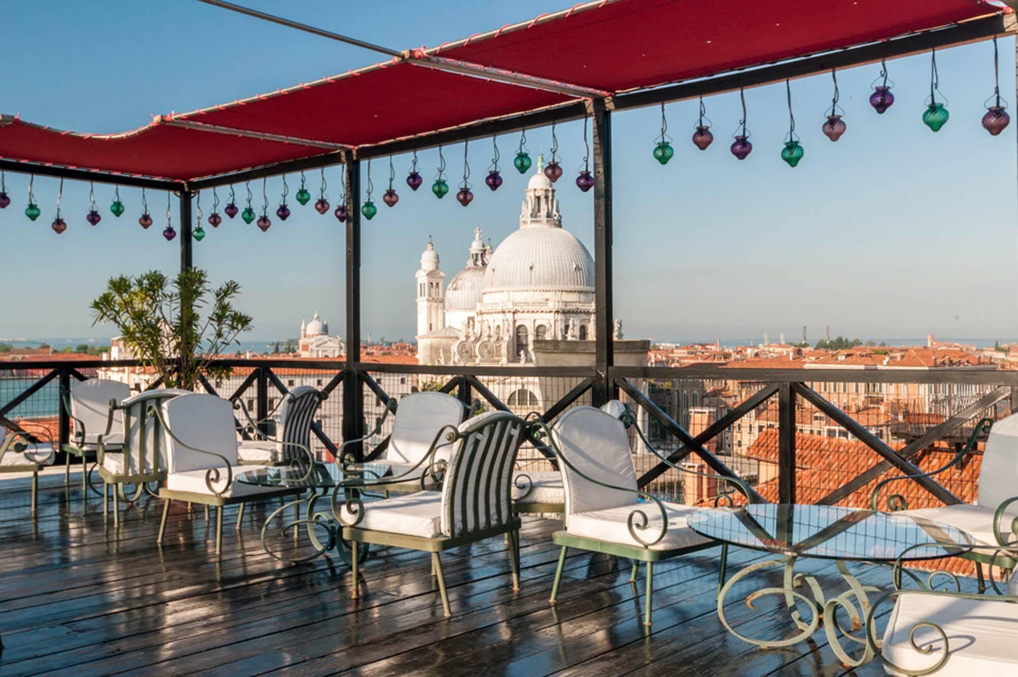 Bauer Venezia Venise Italie Settimo Cielo Terrace