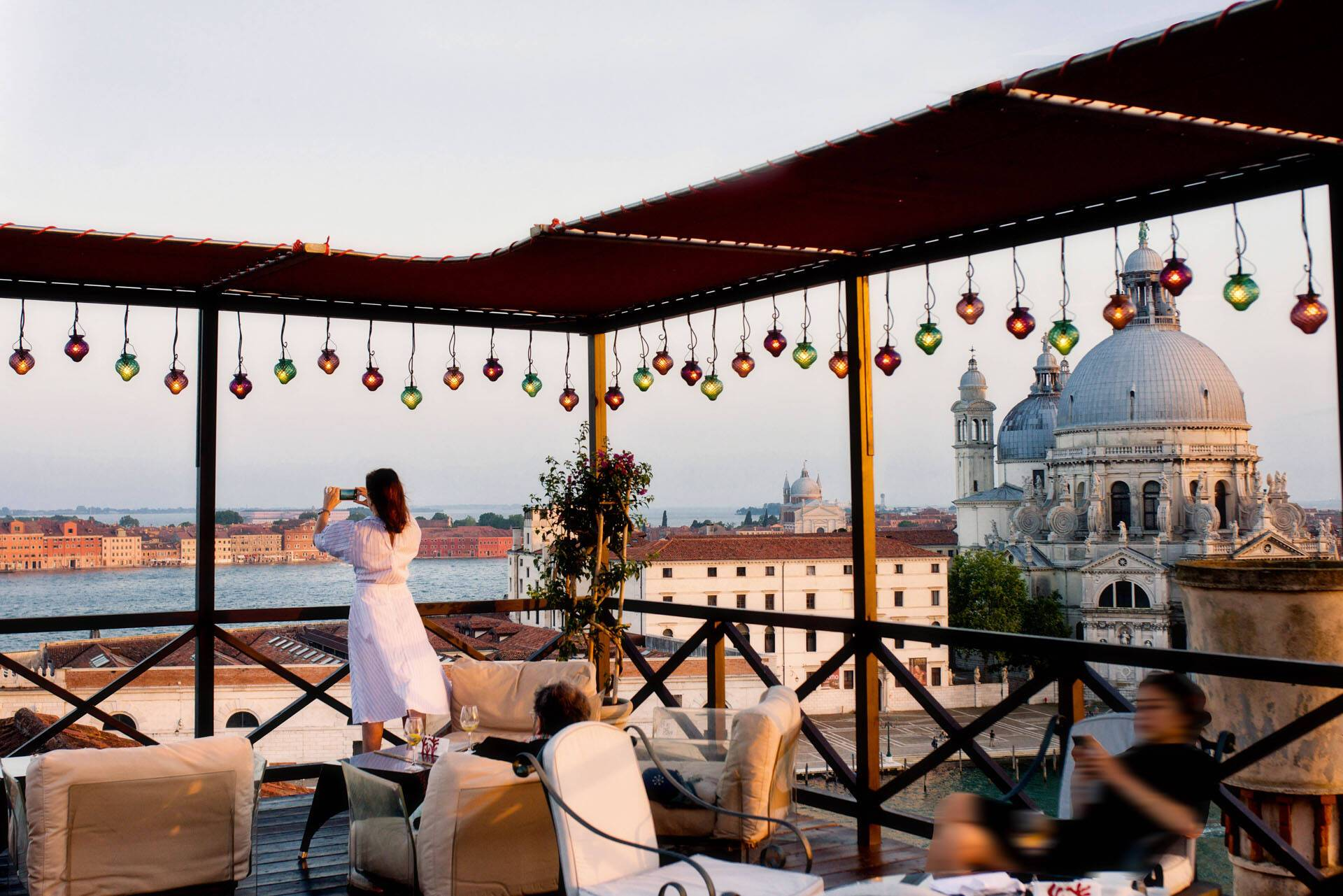 Bauer Palazzo Venise Terrasse