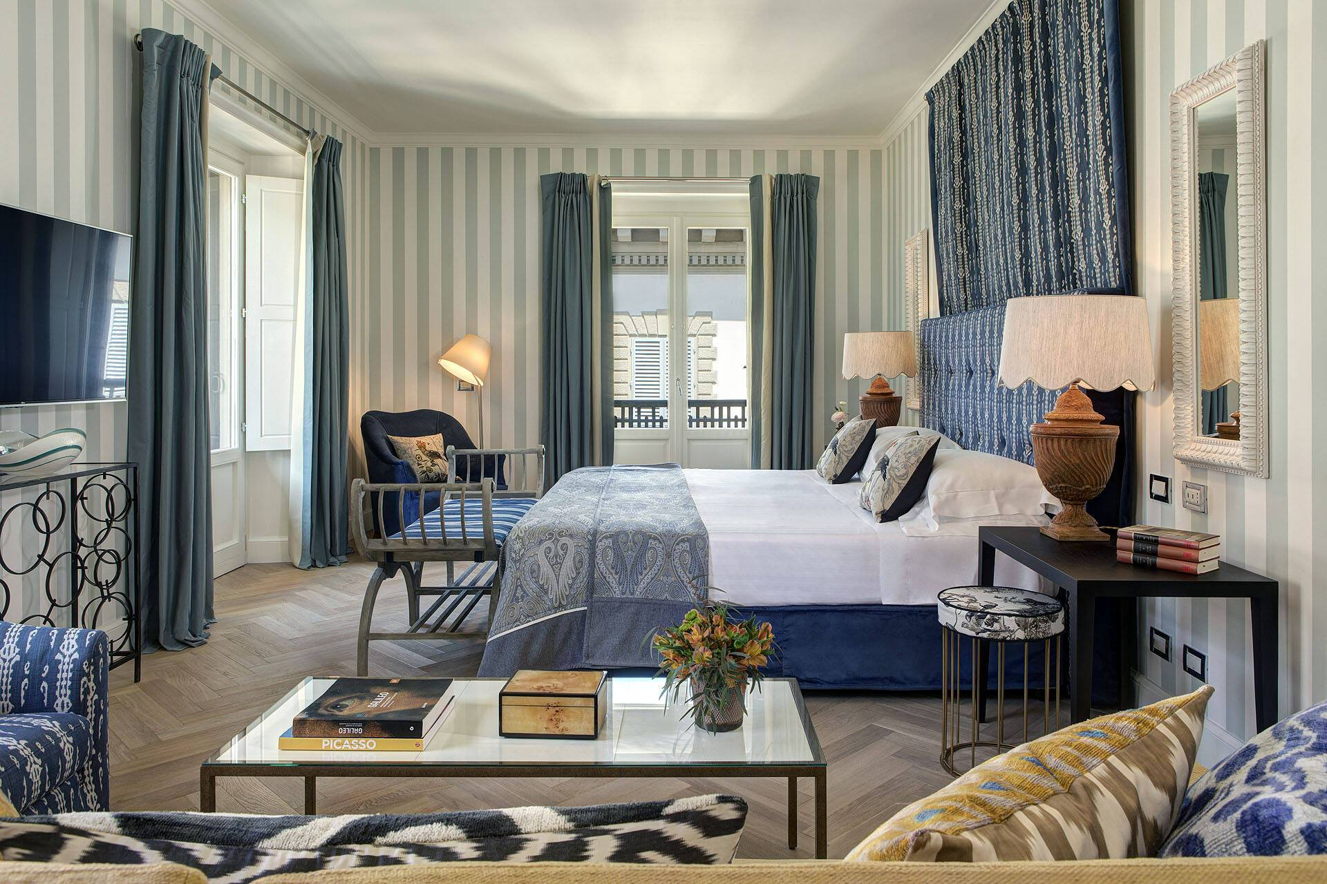 Hotel Savoy Florence Presidential Suite