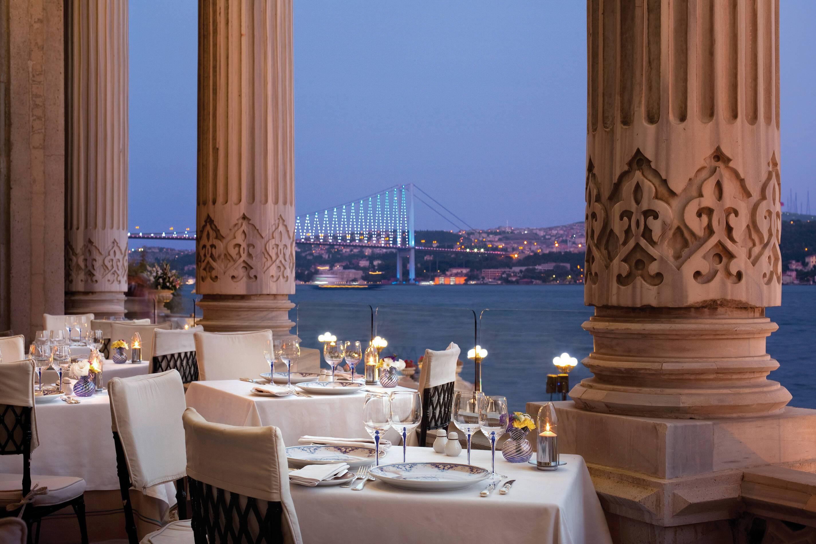 Ciragan Palace Restaurant Tugra Turquie