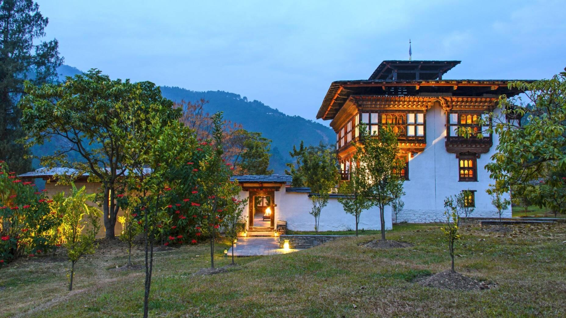 Punakha Amankora Lodge Bhoutan Amanresorts