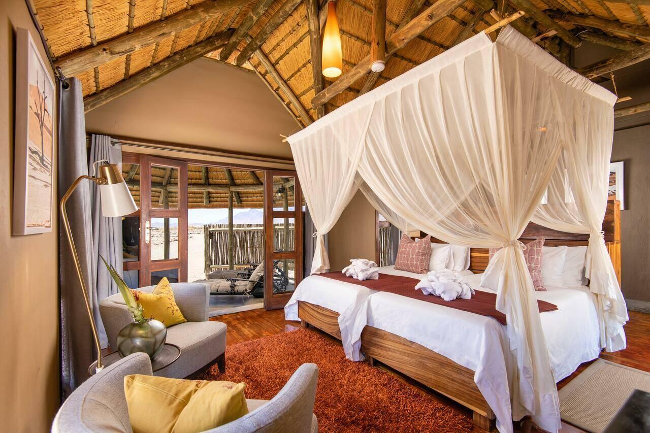 Hoodia Desert Lodge Namibie Chambre