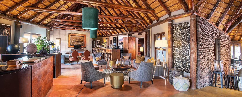 Hoodia Desert Lodge Namibie Lobby