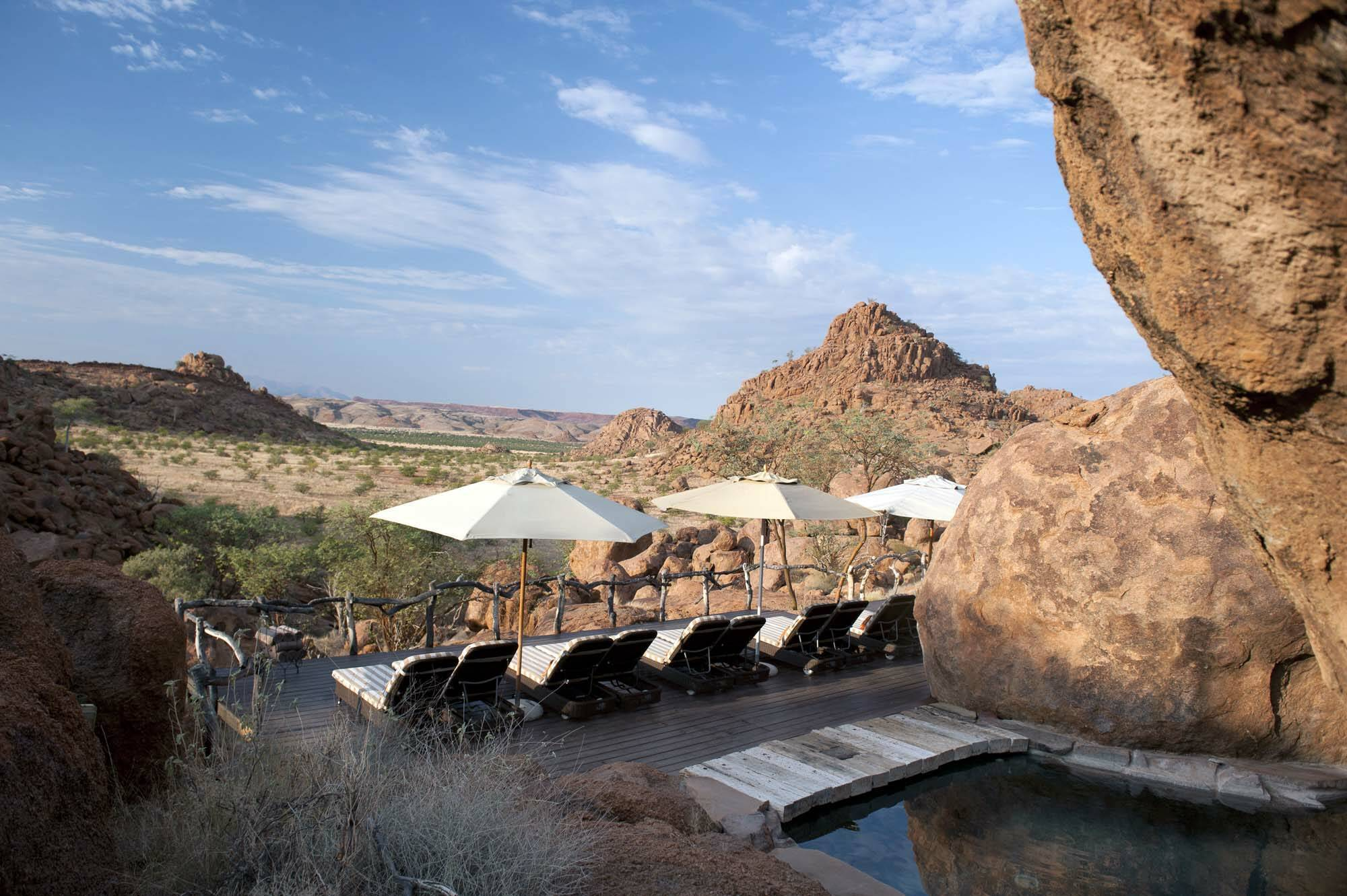 Mowani Mountain Camp Namibie Piscine