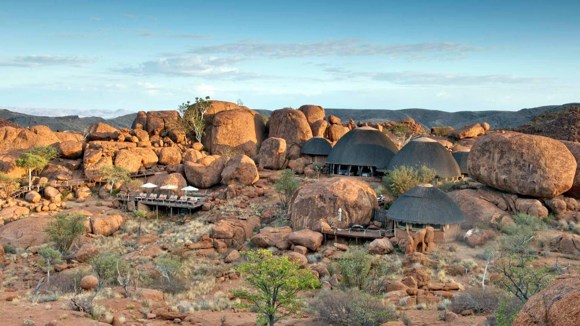 Mowani Mountain Camp Namibie
