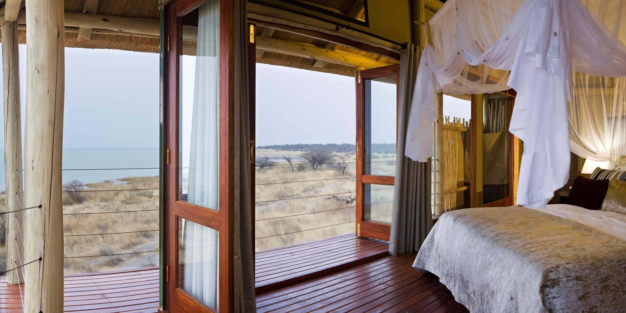 Namibie onkoshi camp