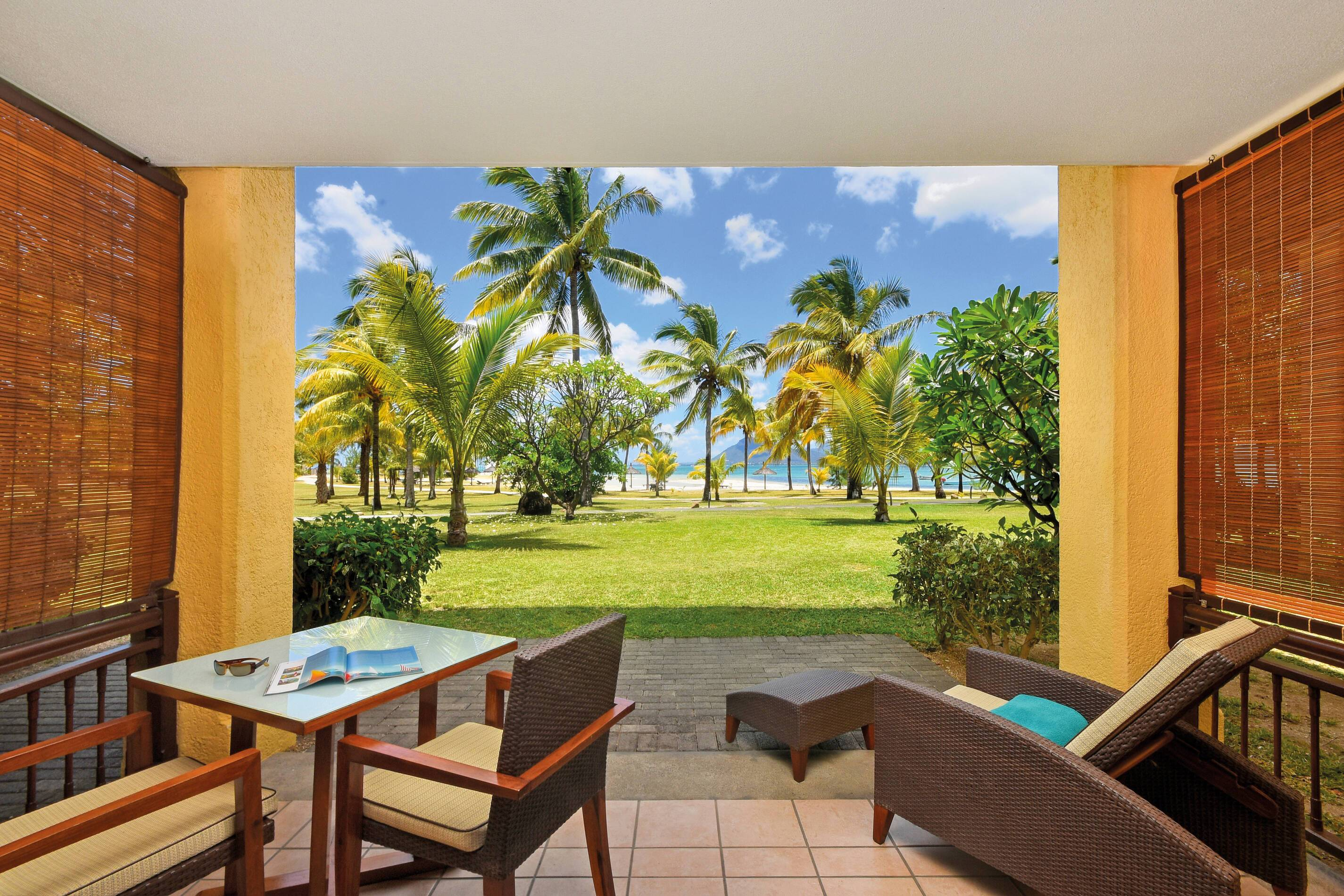 Paradis Beachcomber Chambre Deluxe Terrasse Maurice