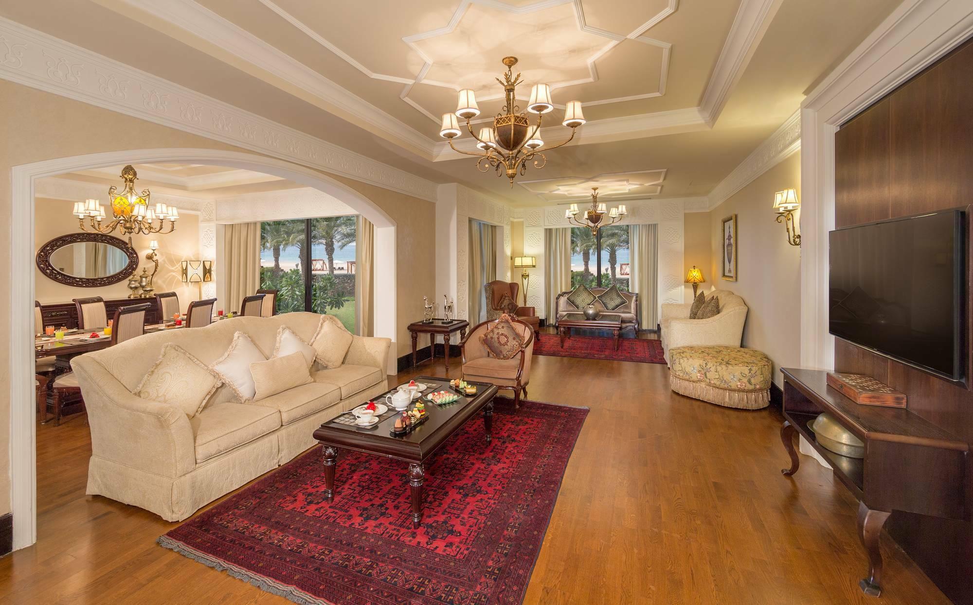 Jumeirah Zabeel Saray Beach Villa Living Dubai